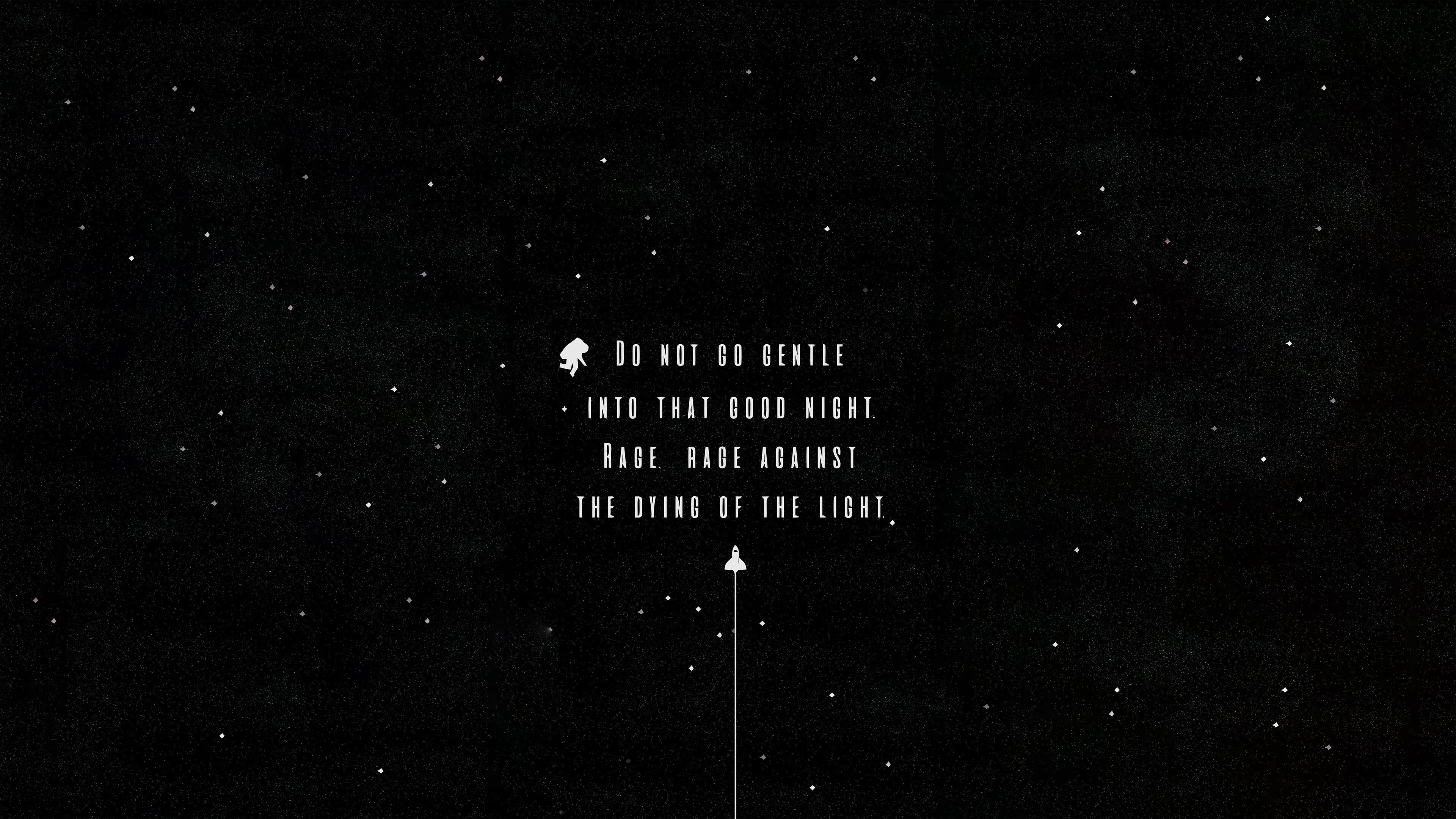 Wallpaper Interstellar Quote