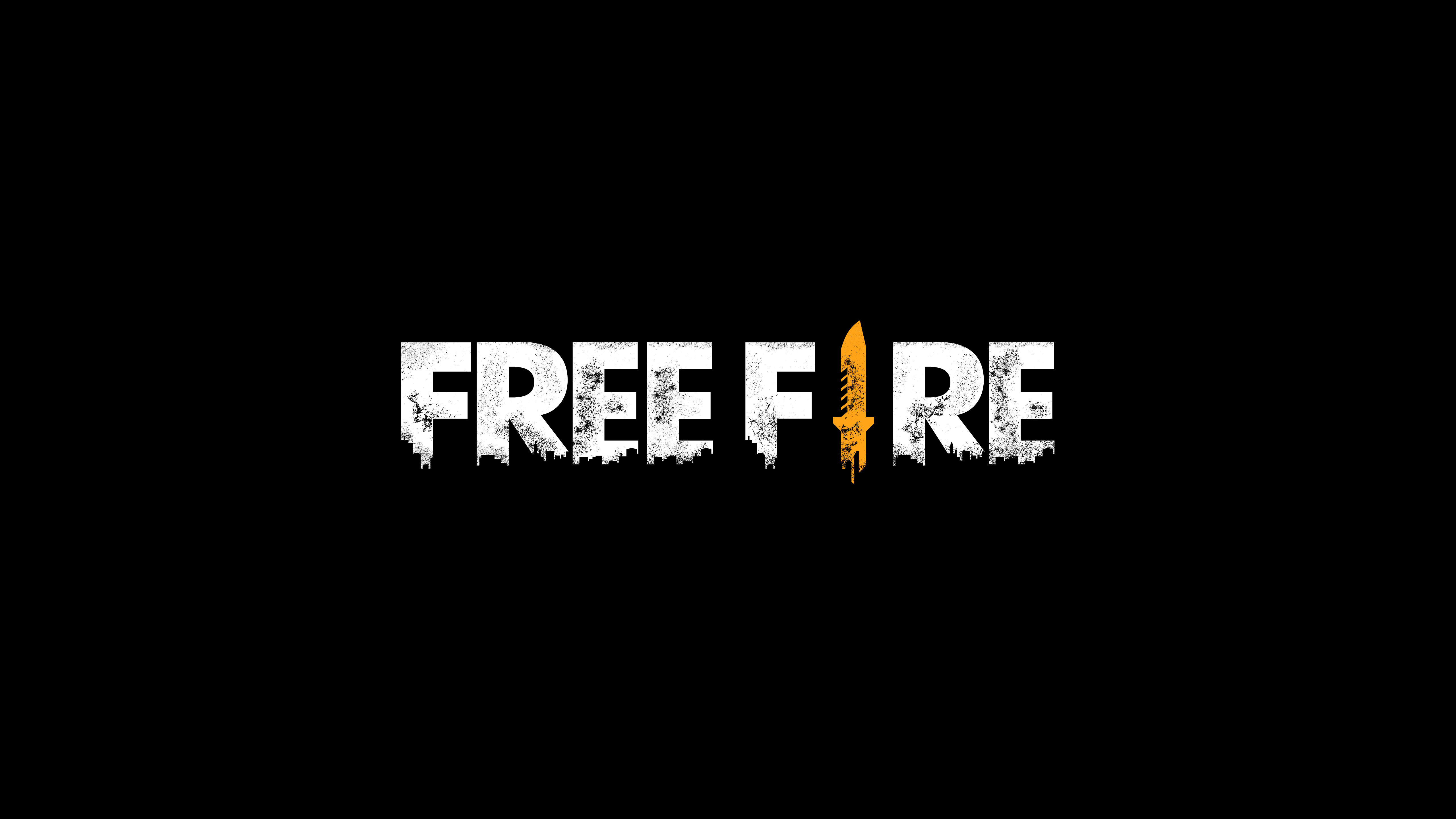 Free Fire Logo Wallpaper 5k Ultra Hd Id3537