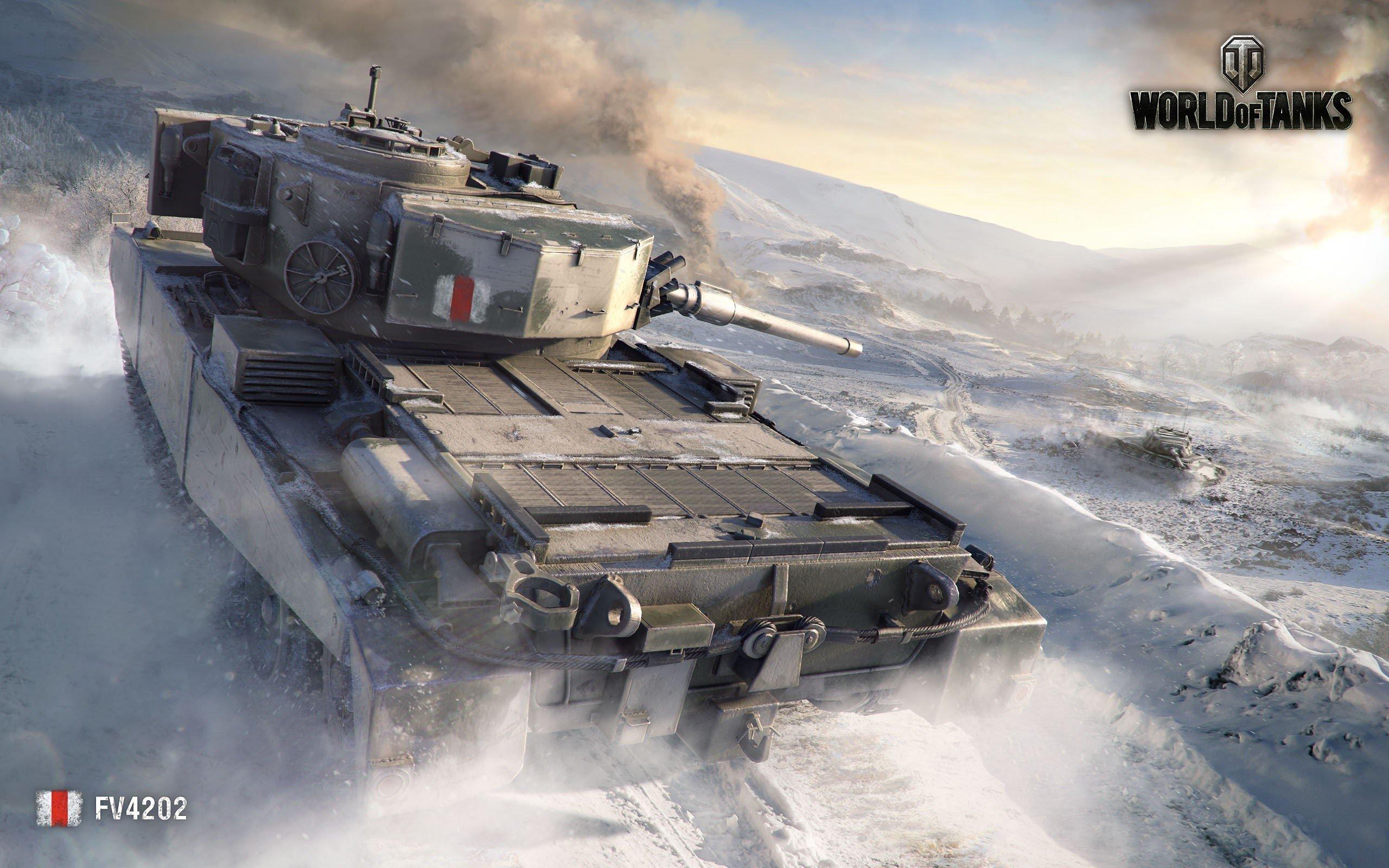Fondos de pantalla FV4202 World of Tanks