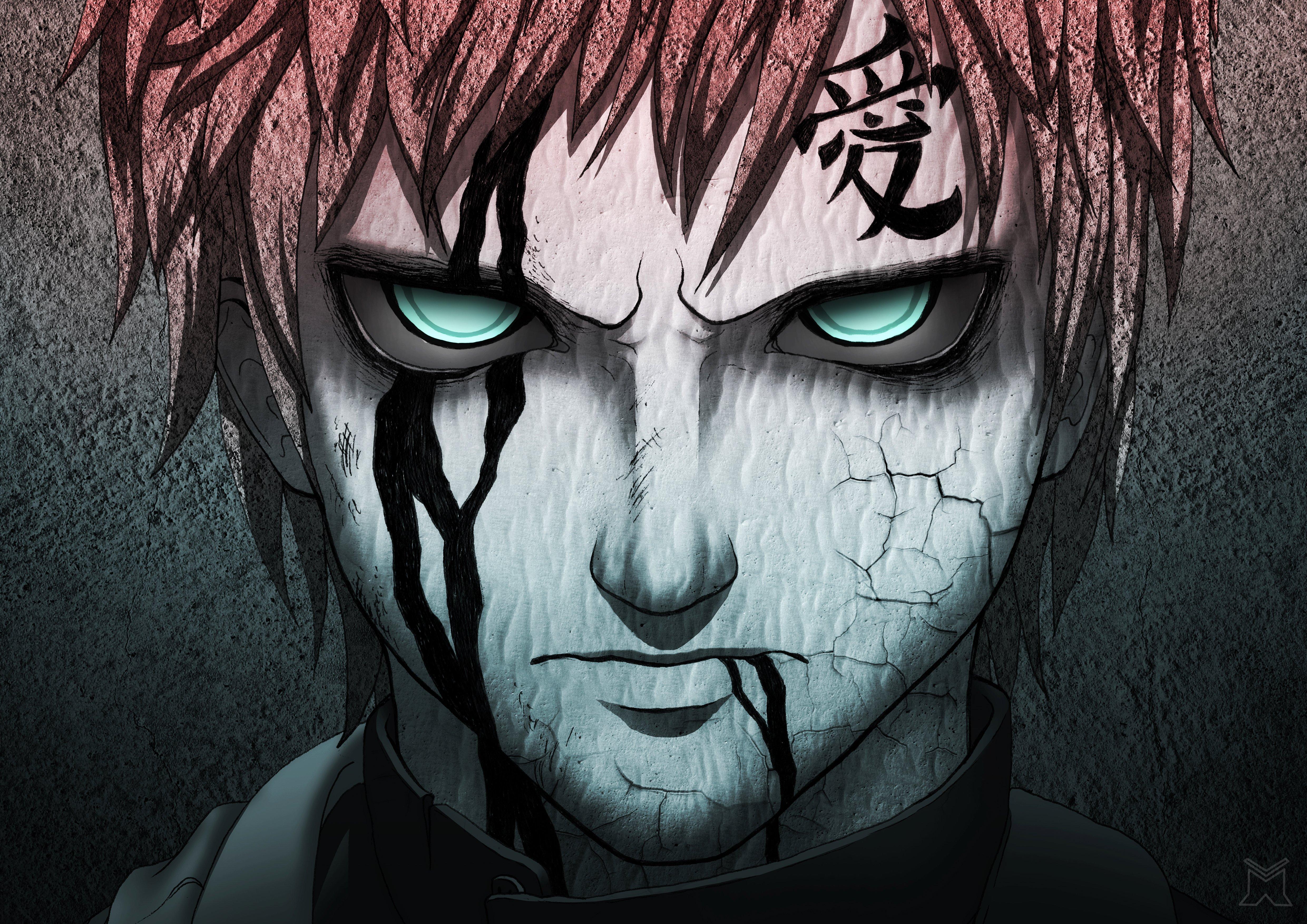 Fondos de pantalla Anime Gaara (Naruto)