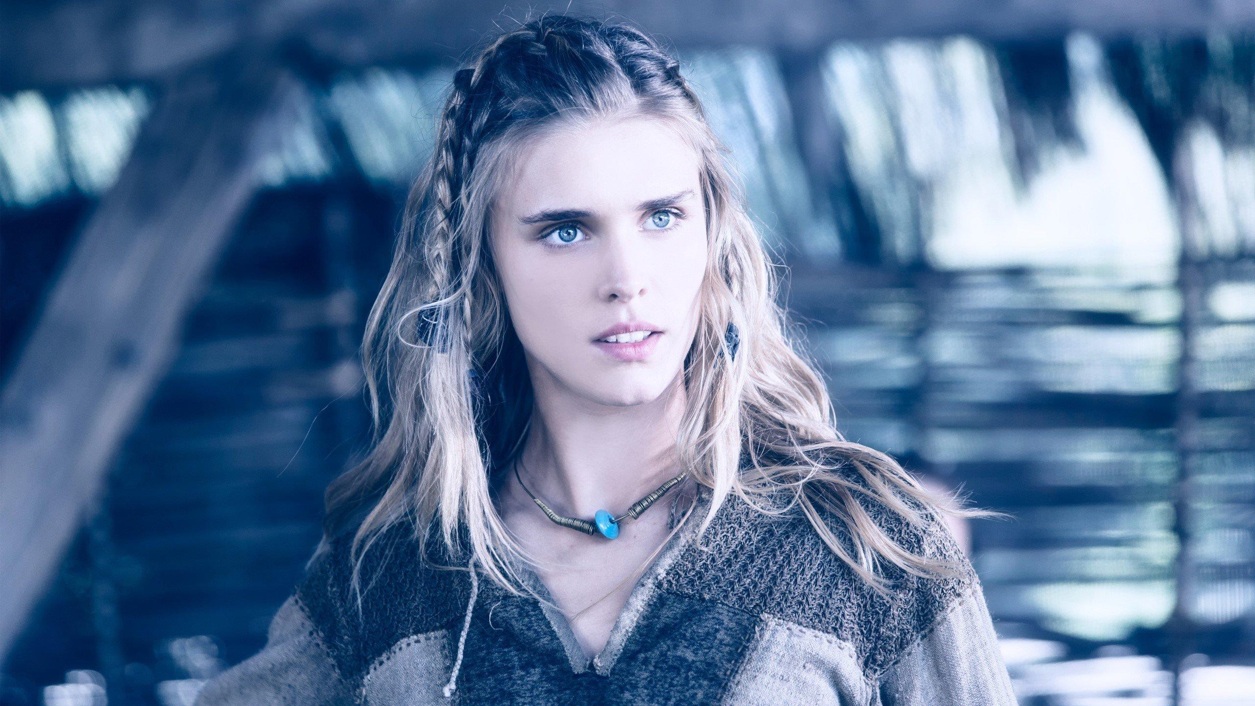 Wallpaper Gaia Weiss of Vikings