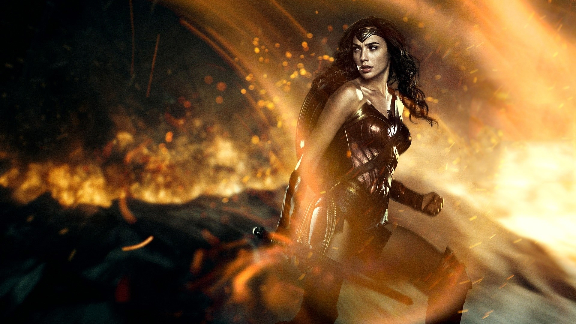 Gal Gadot As The Wonder Woman Wallpaper Full Hd Id 2713