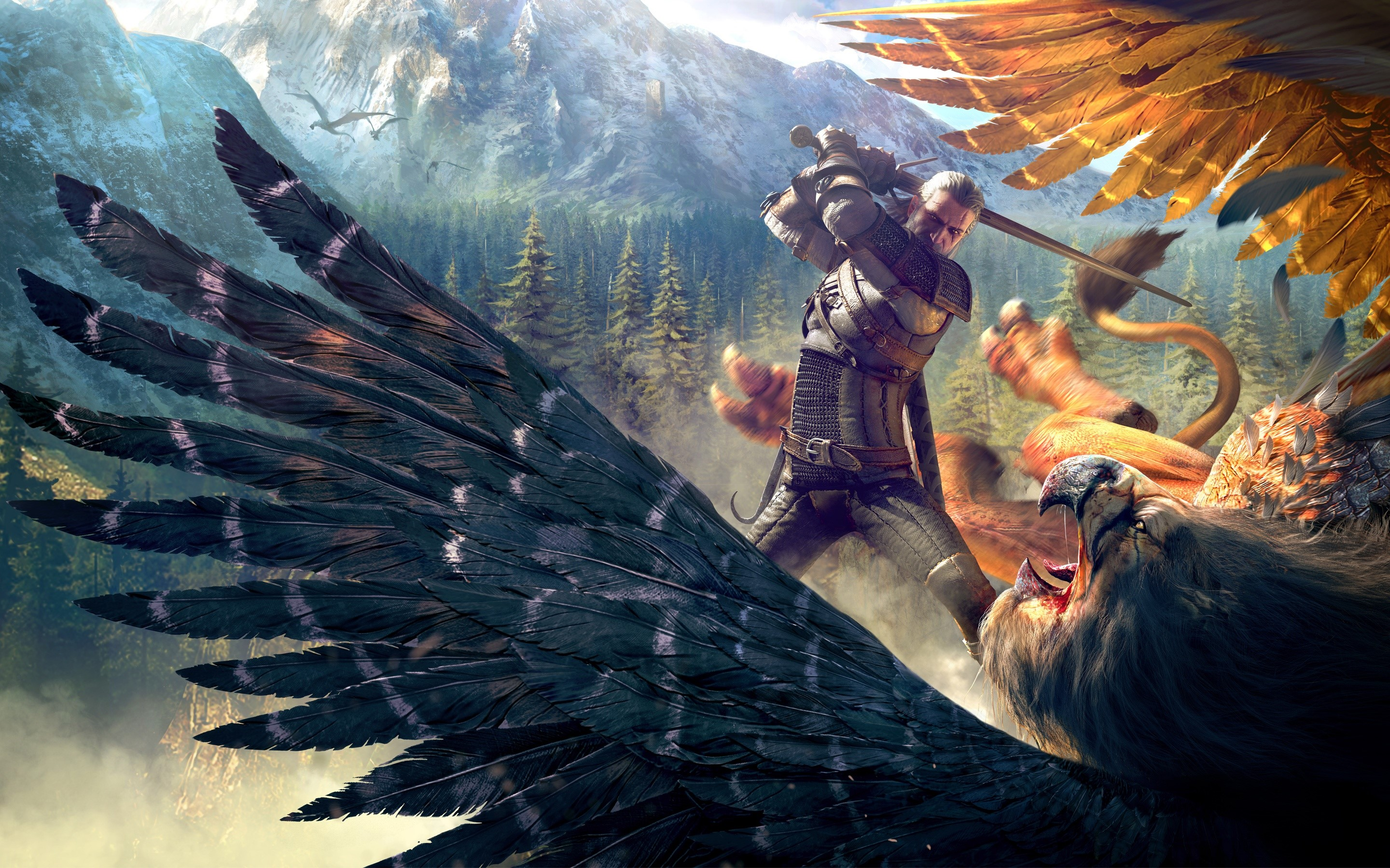 Wallpaper Gameplay of The Witcher 3 Wild Hunt