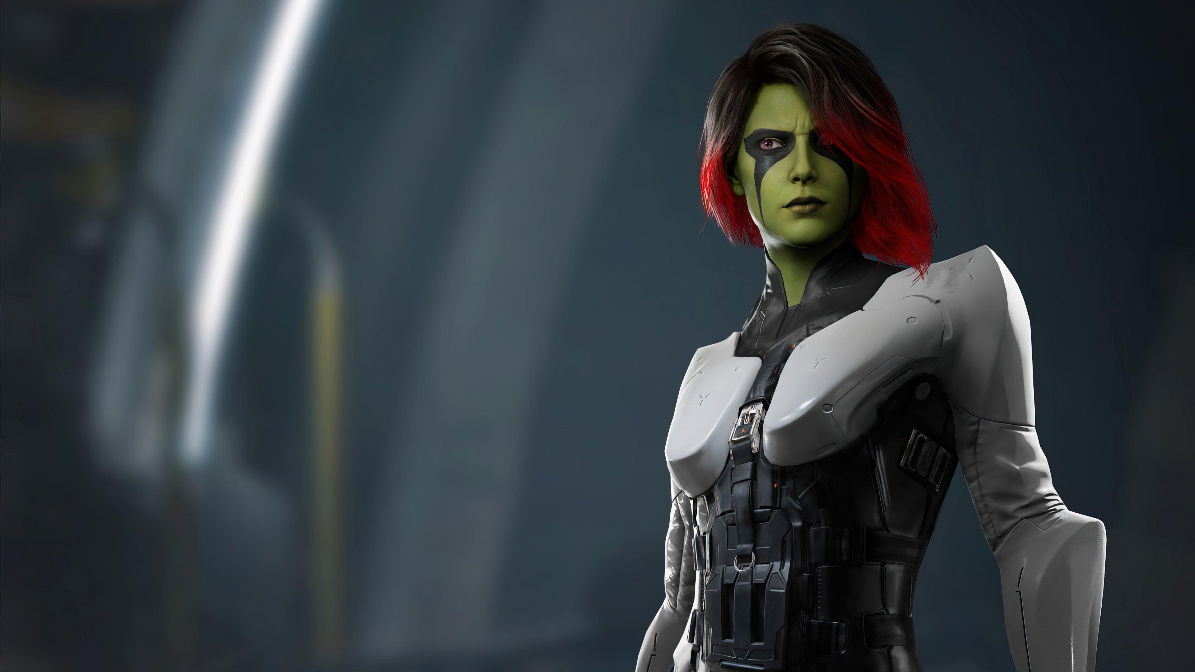 Fondos de pantalla Gamora Marvels Guardianes de la galaxia