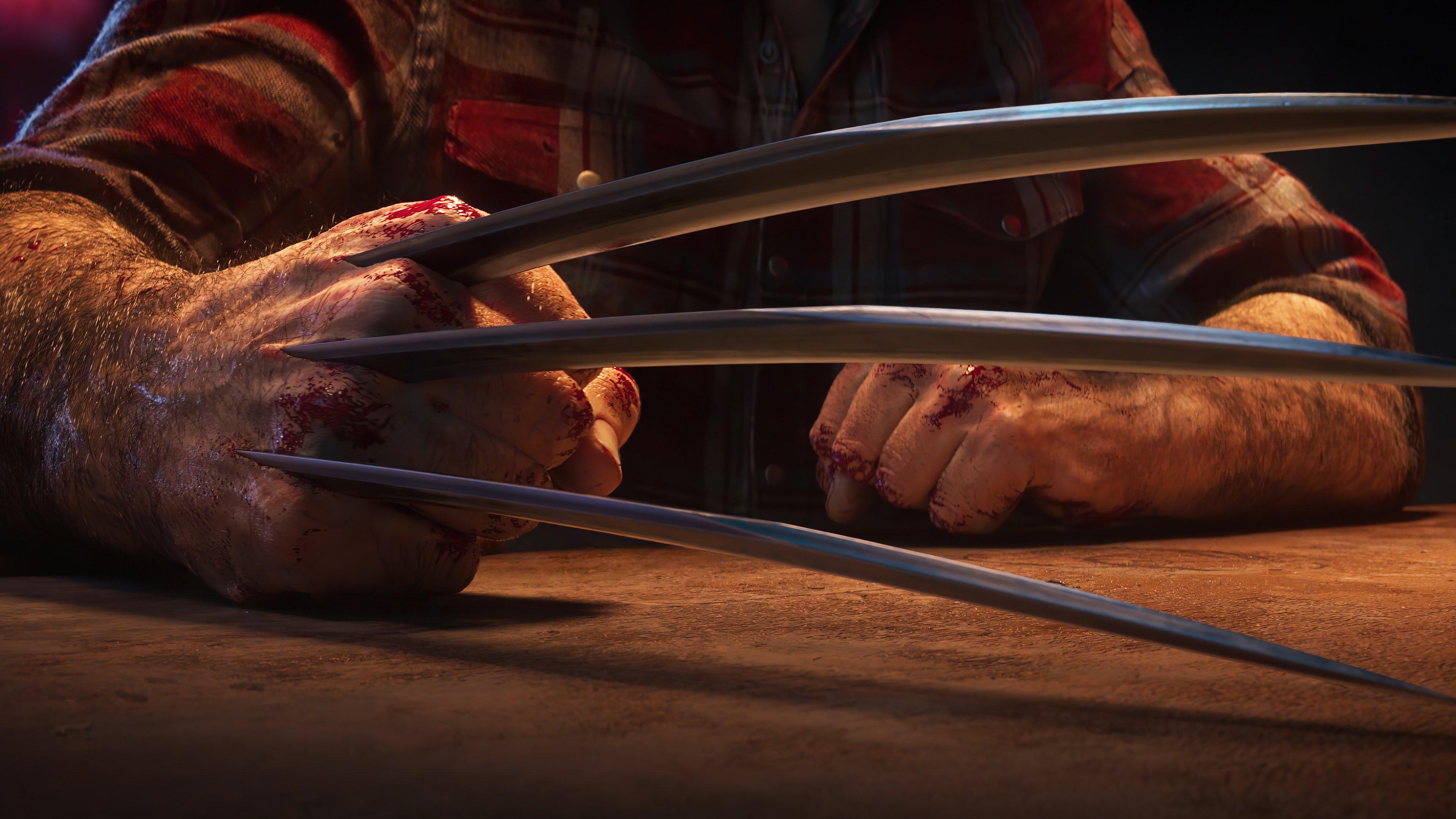 Fondos de pantalla Garra de Wolverine