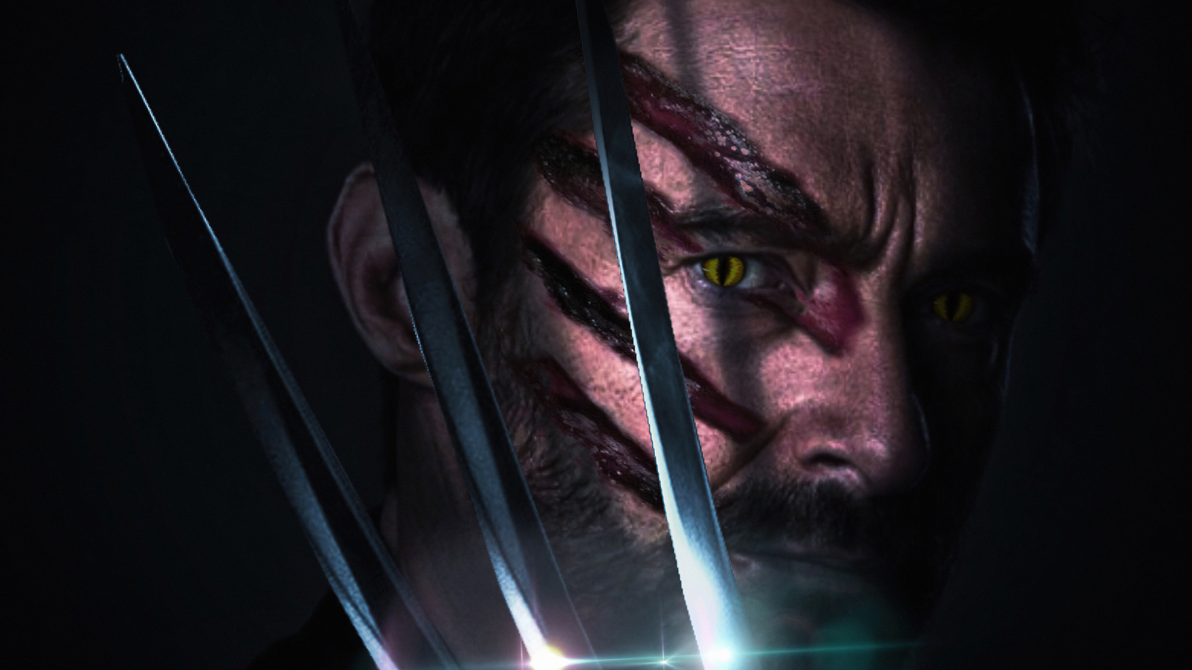 Fondos de pantalla Garras de Wolverine