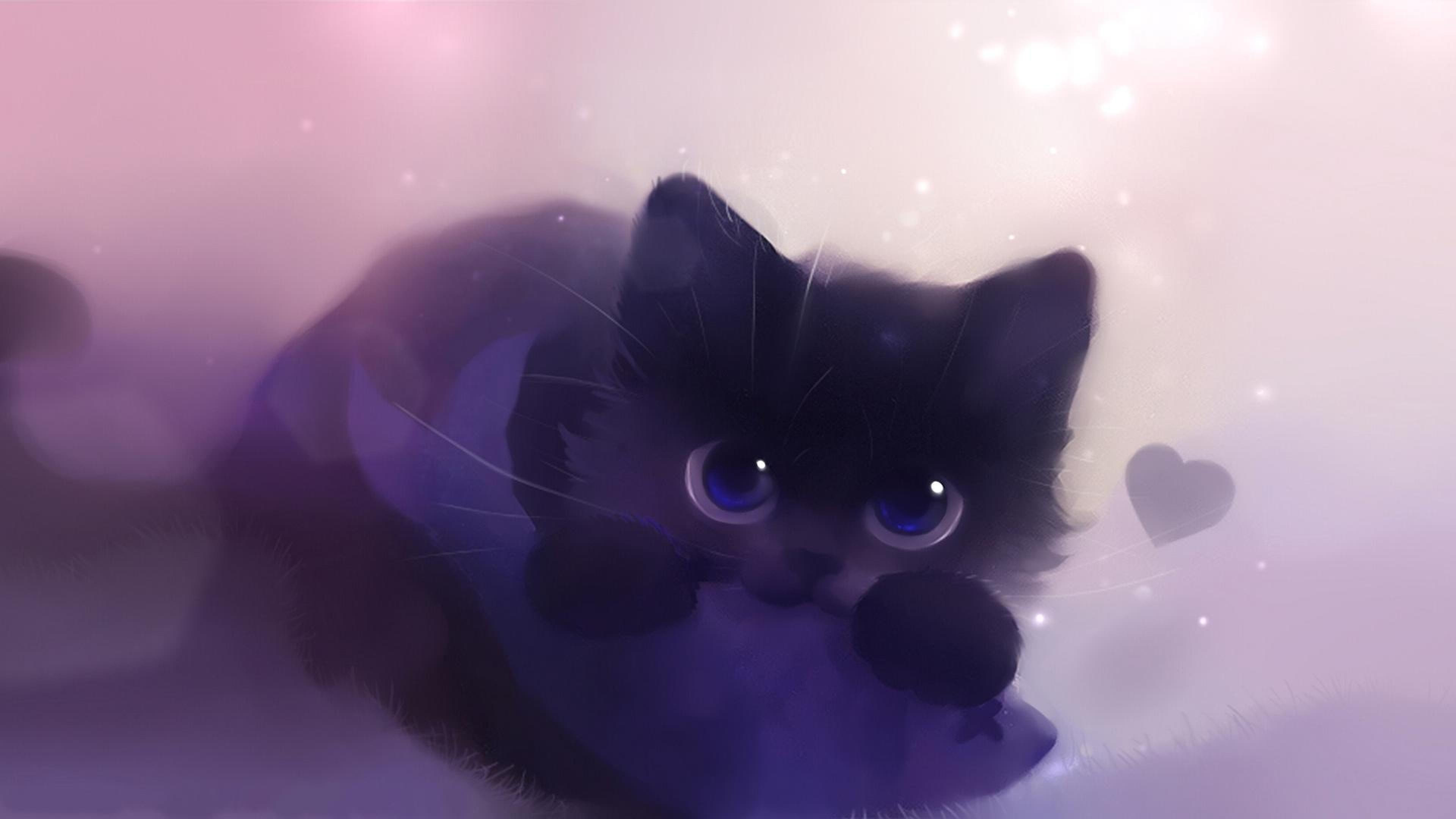 Wallpaper Cat Art