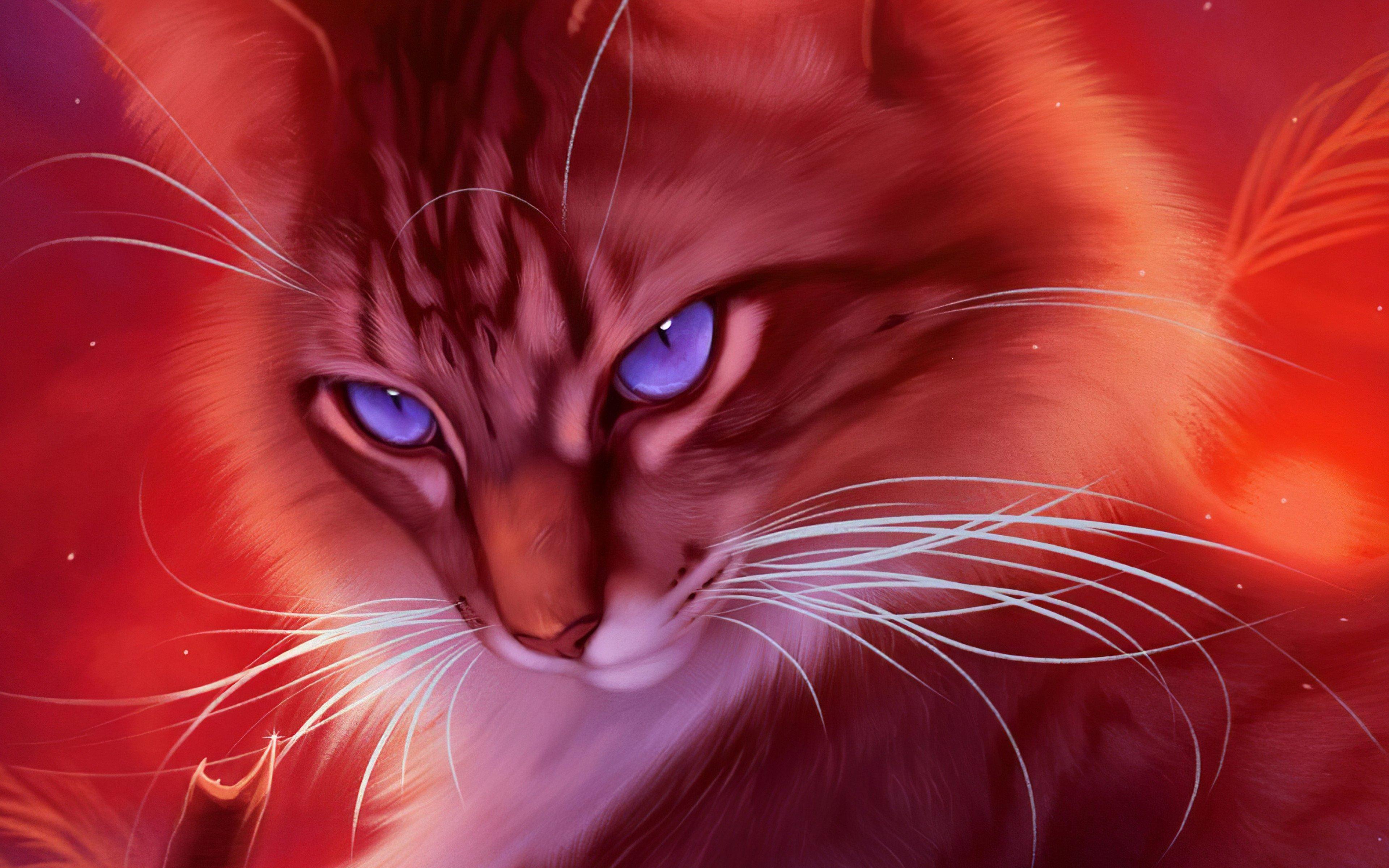 Wallpaper Cat Artwork