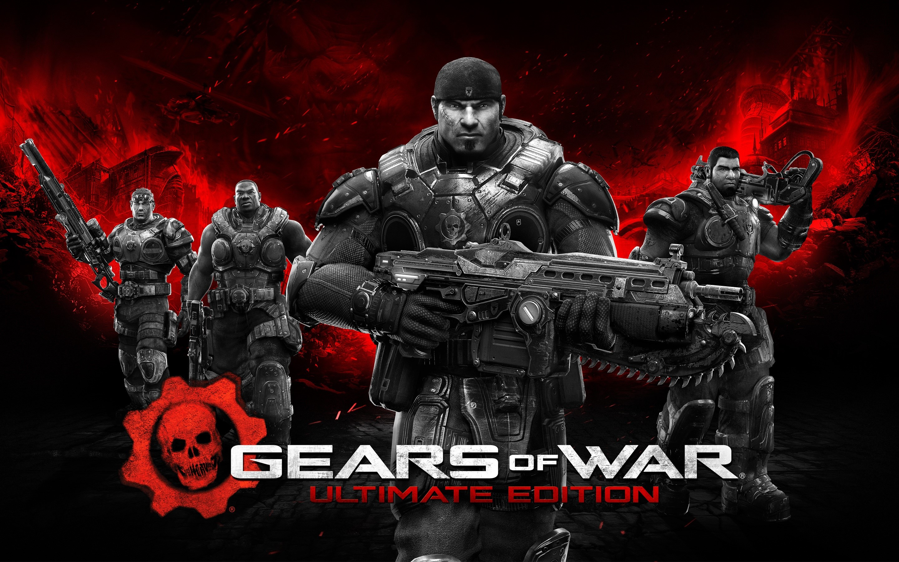 Wallpaper Gears Of War Ultimate Edition
