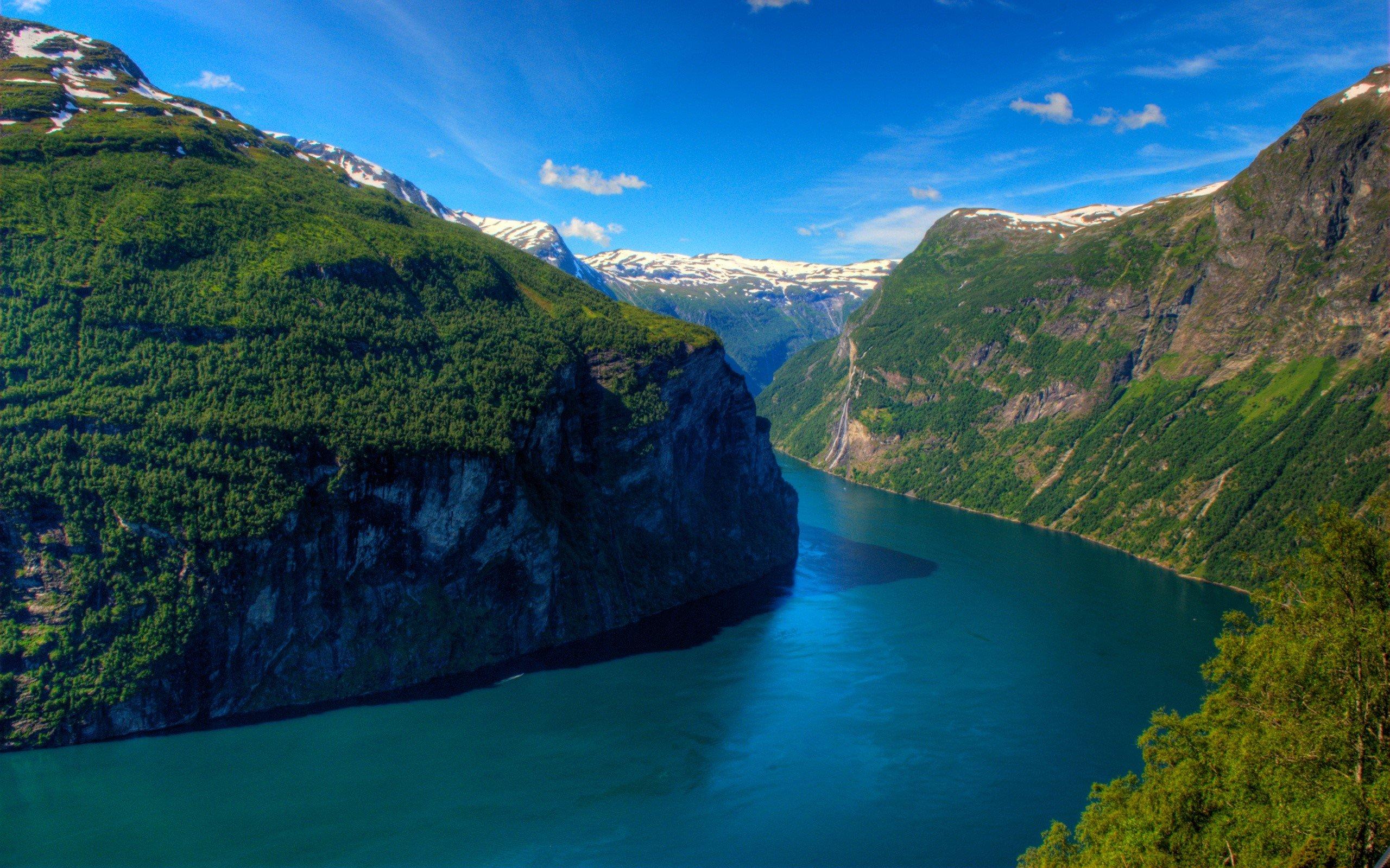 Wallpaper Geirangerfjord Fjord in Norway