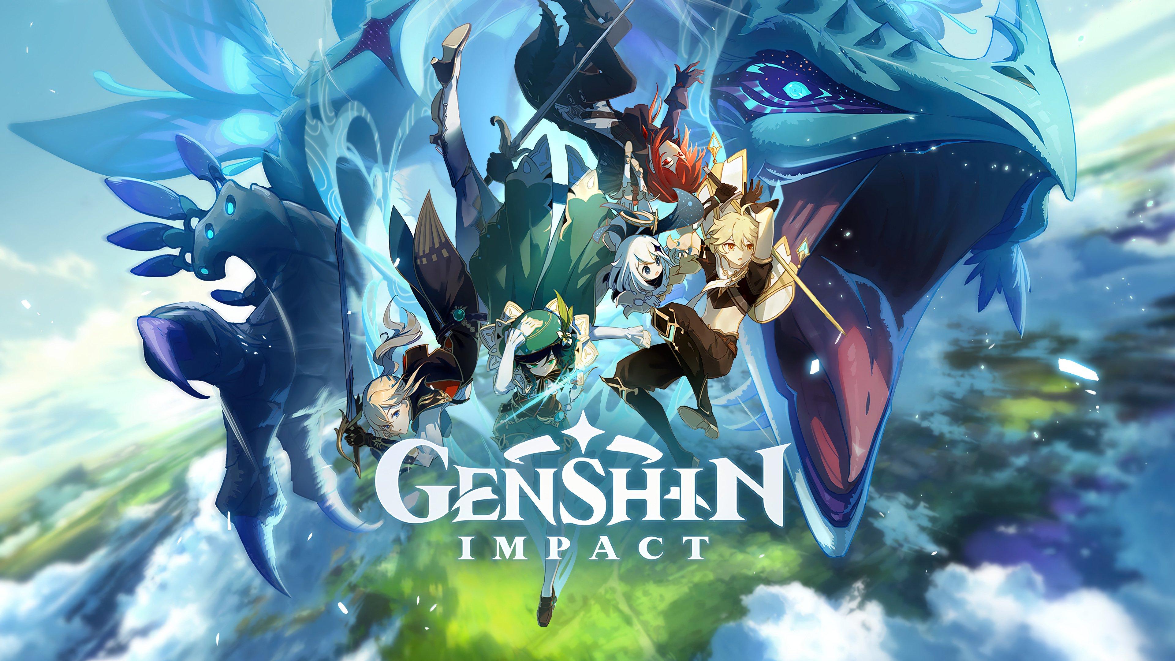 Fondos de pantalla Genshin Impact Personajes