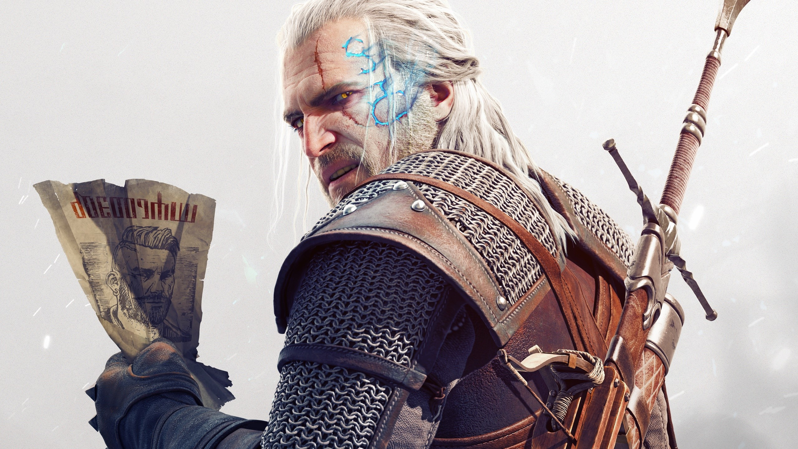 Wallpaper Geralt from The Witcher 3