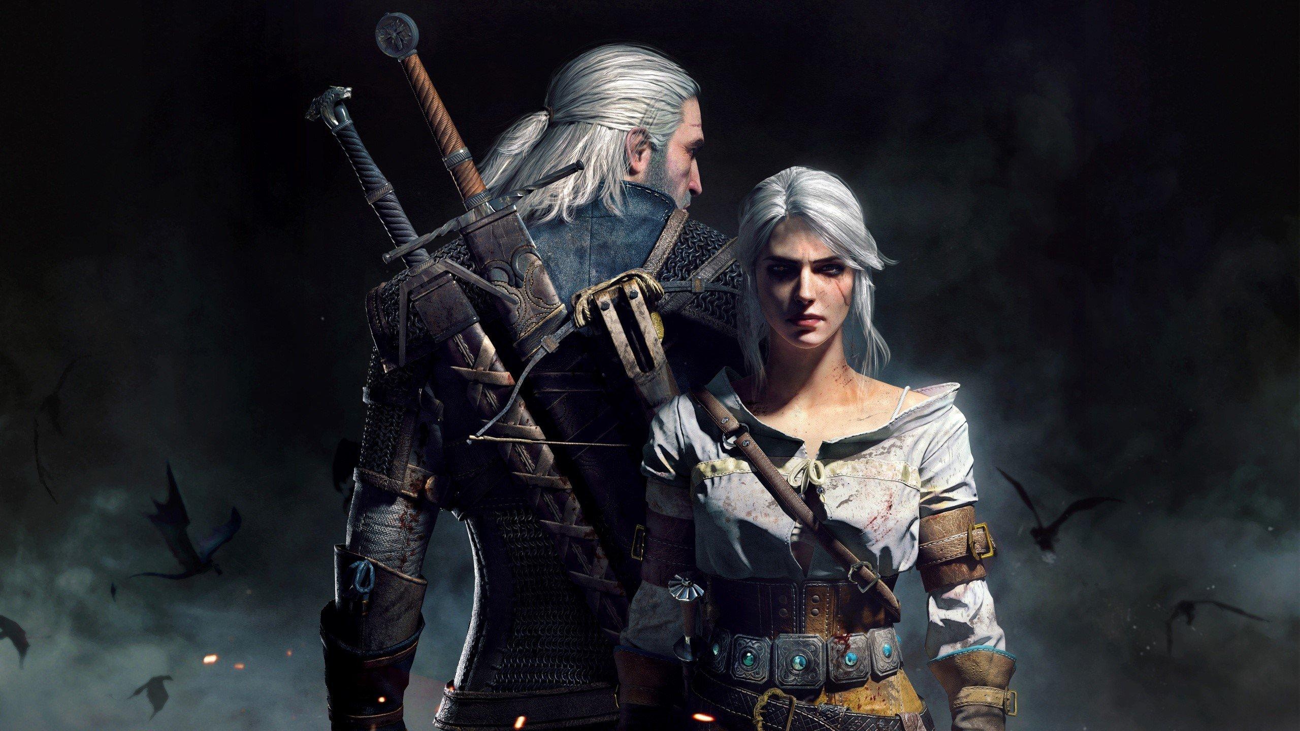 Fondo de pantalla de Geralt y Ciri en The Witcher 3 Wild Hunt Imágenes