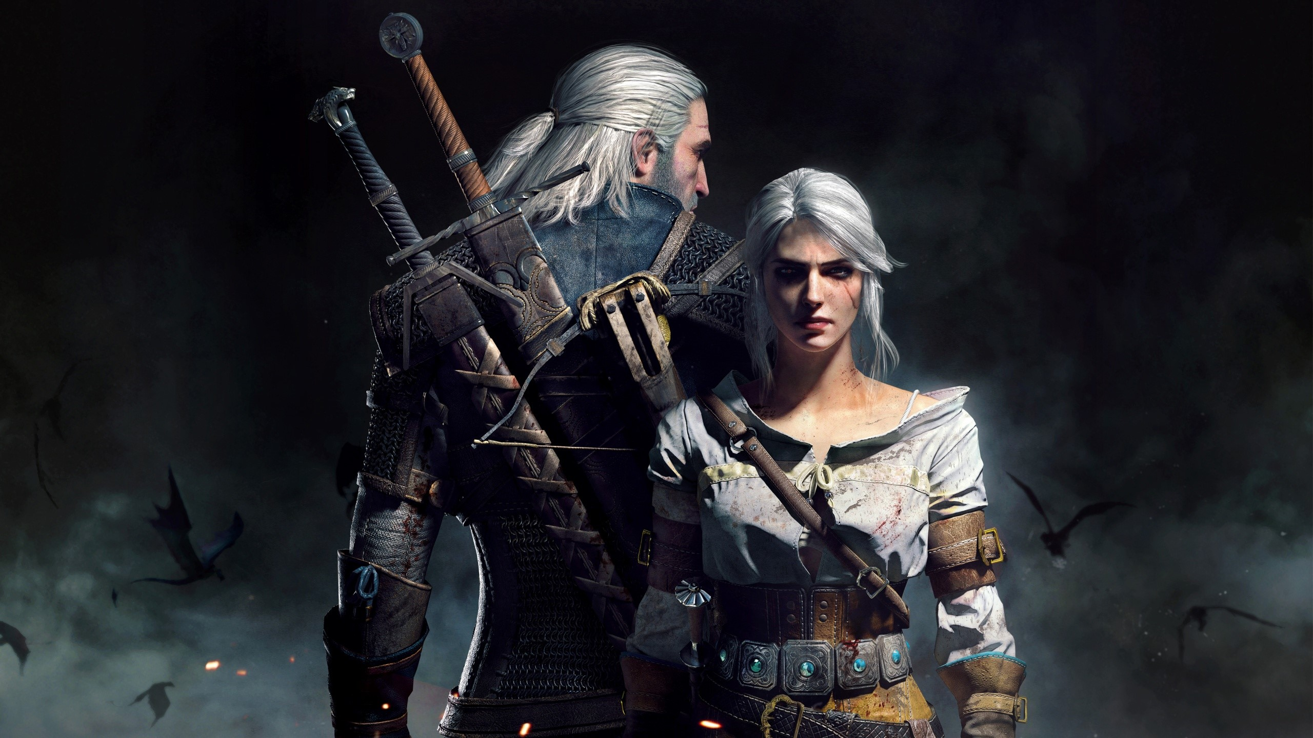 Fondos de pantalla Geralt y Ciri en The Witcher 3 Wild Hunt