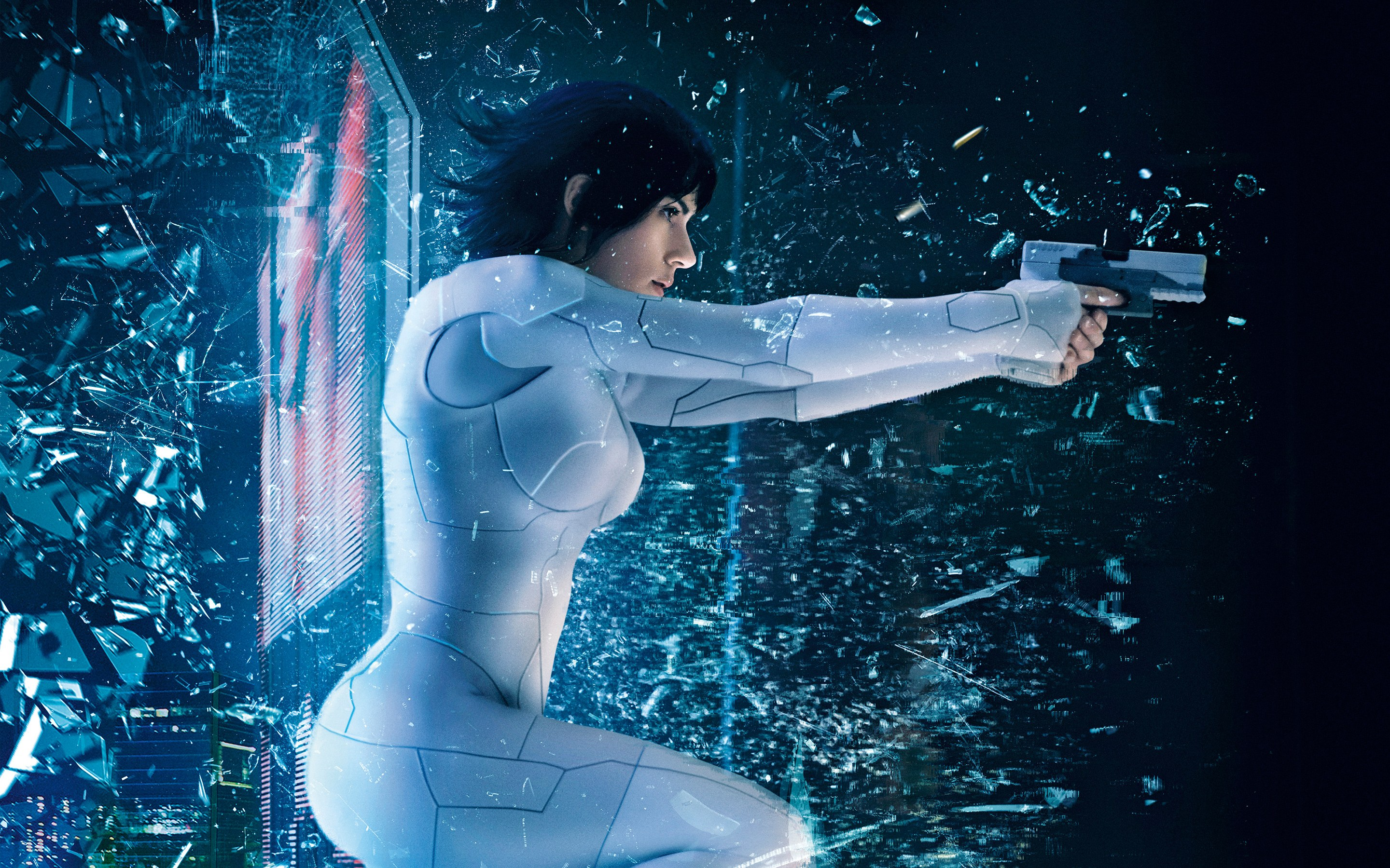 Wallpaper Ghost in the Shell: vigilante del futuro Images