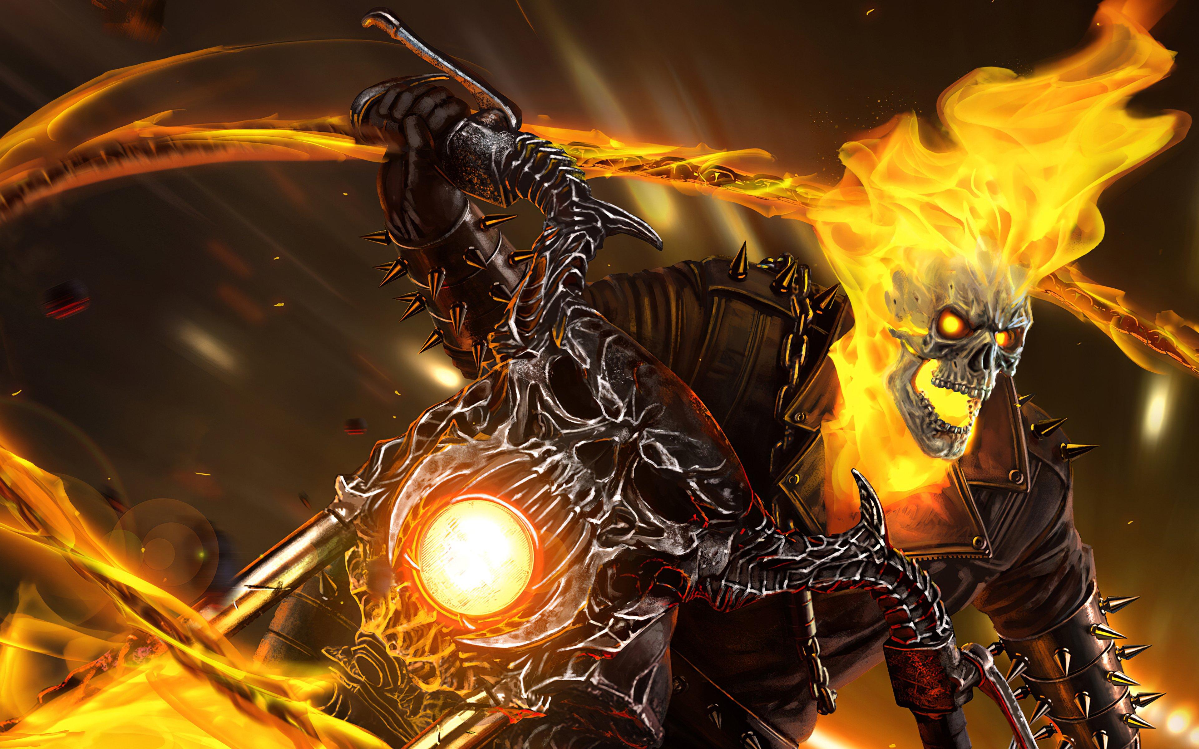Ghost Rider Wallpaper 4k Ultra Hd Id 4831