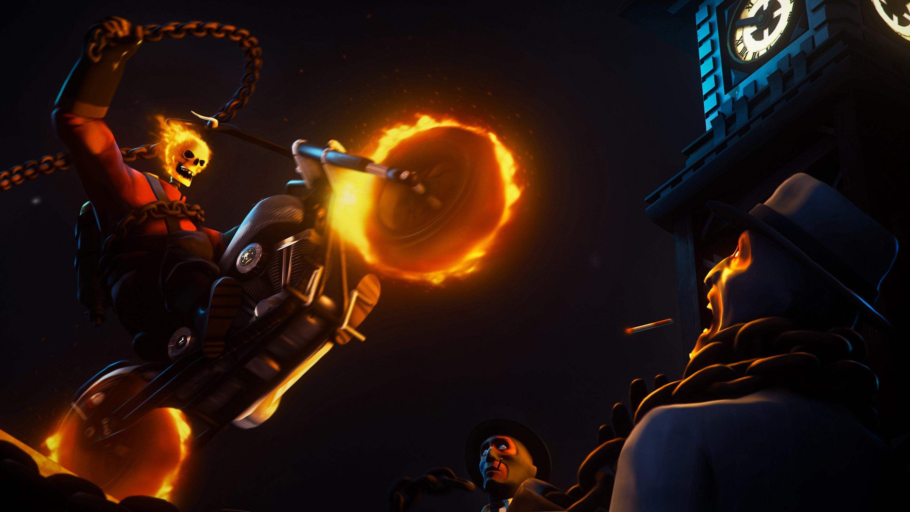 Fondos de pantalla Ghost Rider art