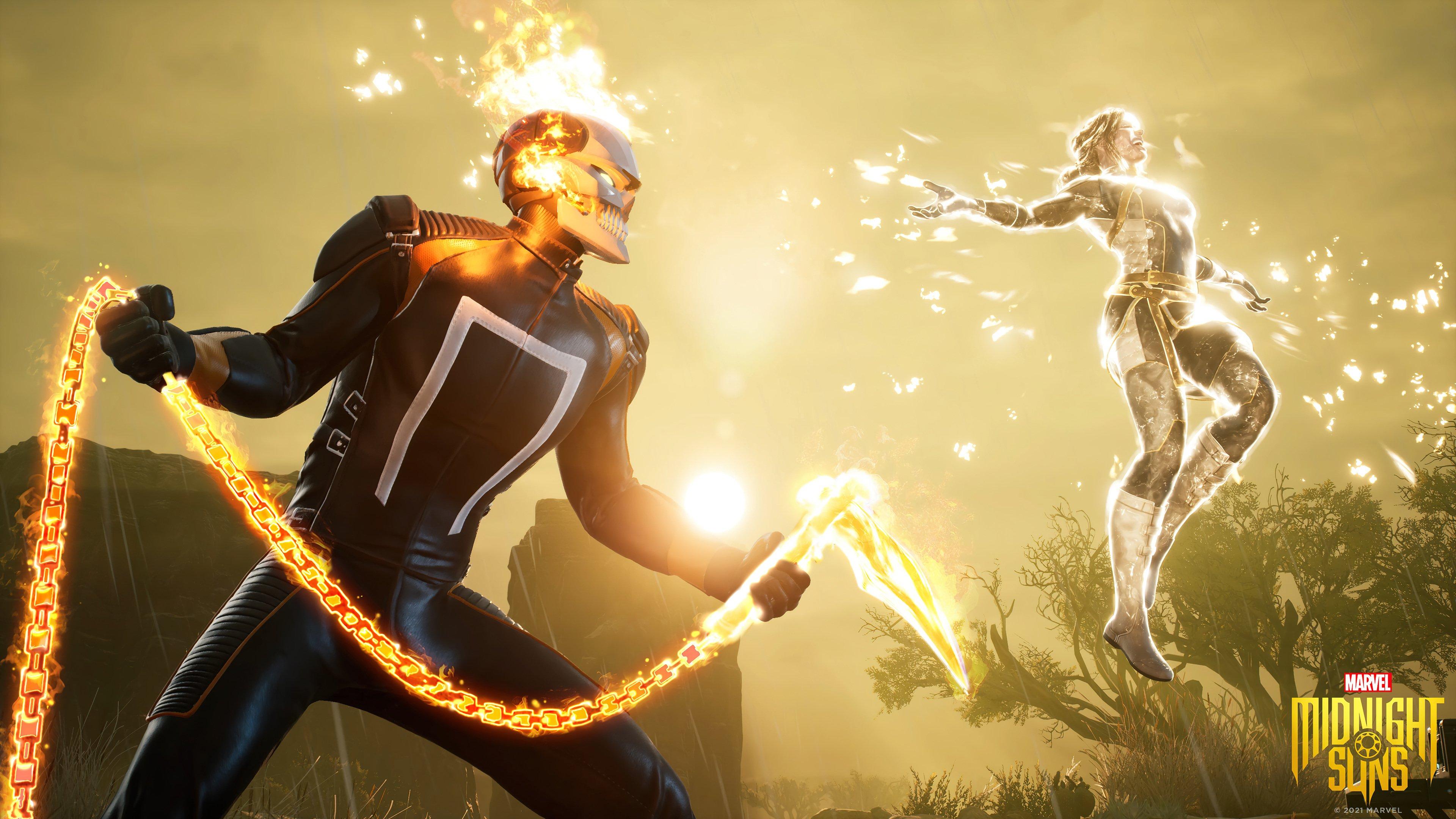 Fondos de pantalla Ghost Rider Marvel's Midnight suns