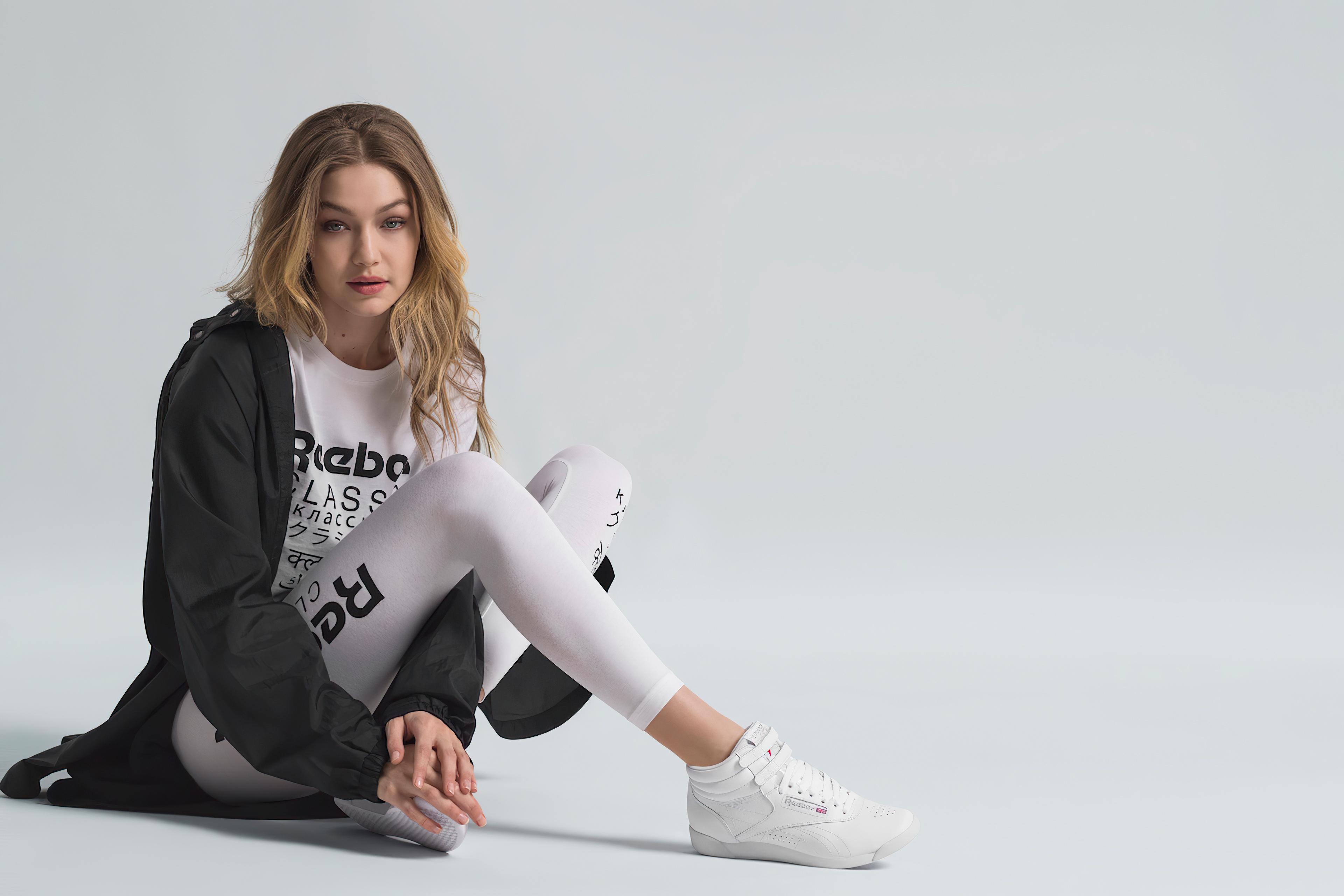 Fondos de pantalla Gigi Hadid para Reebook 2020