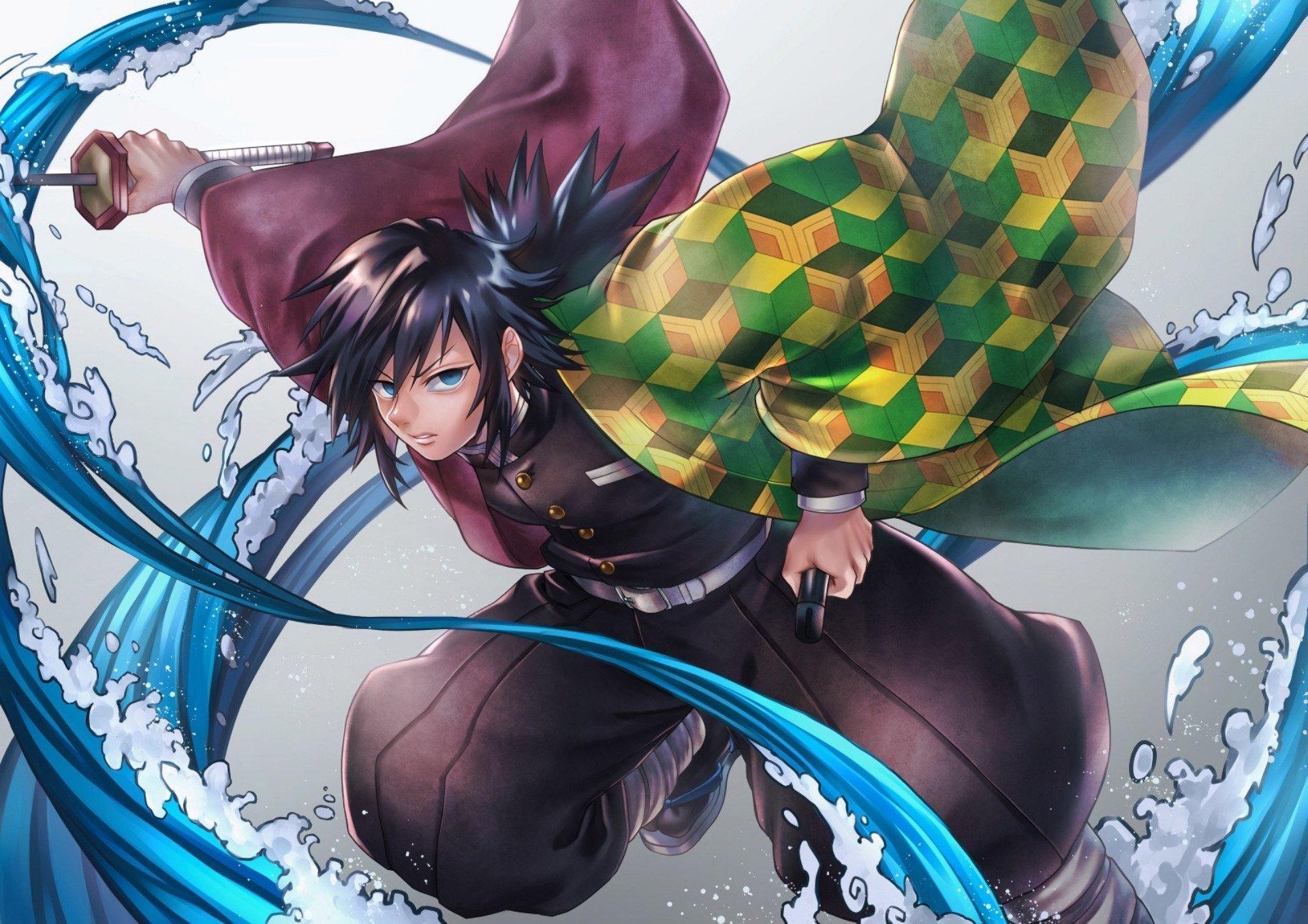 Fondos de pantalla Anime Giyu Tomioka de Guardianes de la Noche