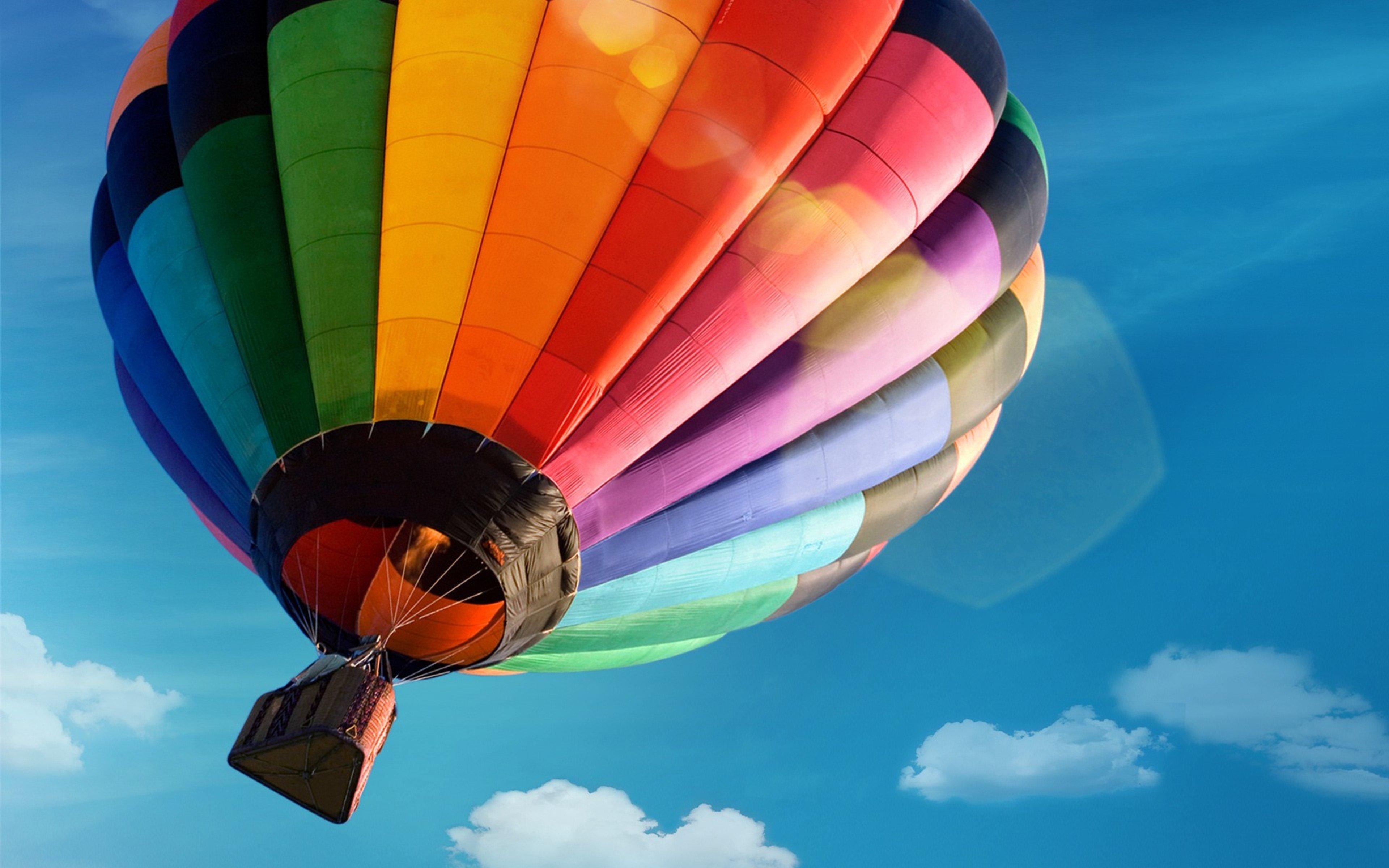 Fondos de pantalla Globo Aerostático Colorido