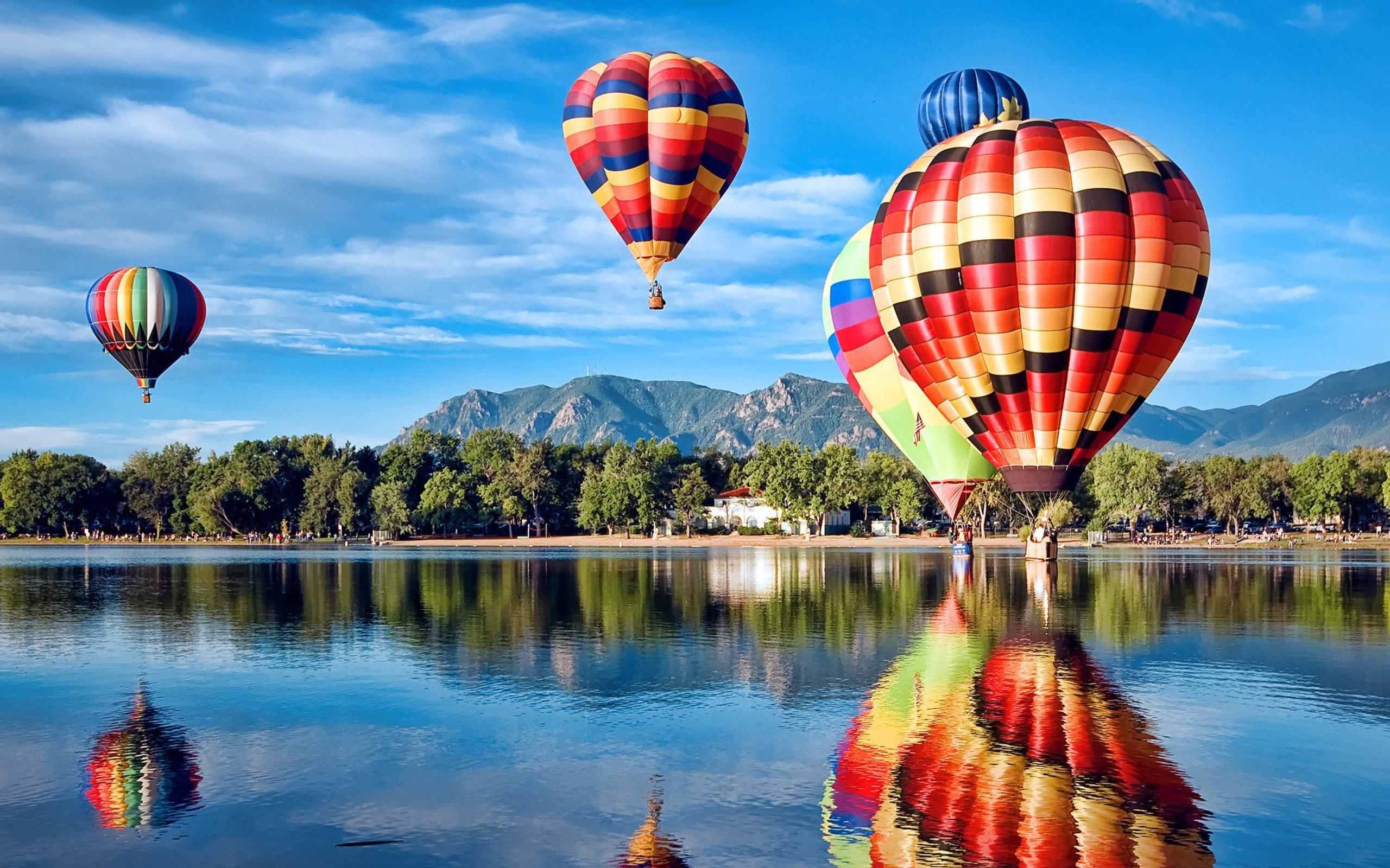 Fondos de pantalla Globos aerostáticos en Colorado