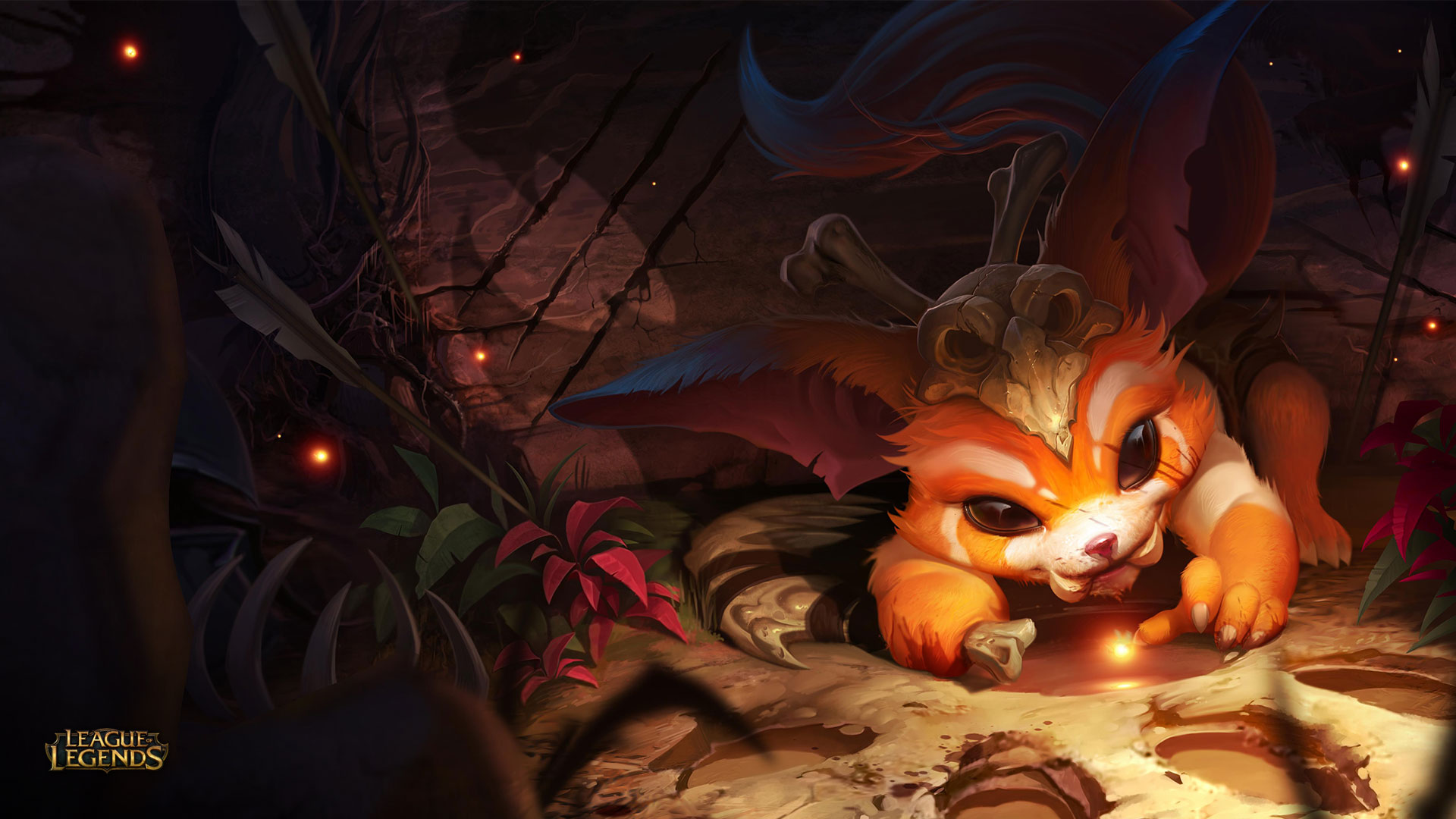 Wallpaper Gnar from League of Legends