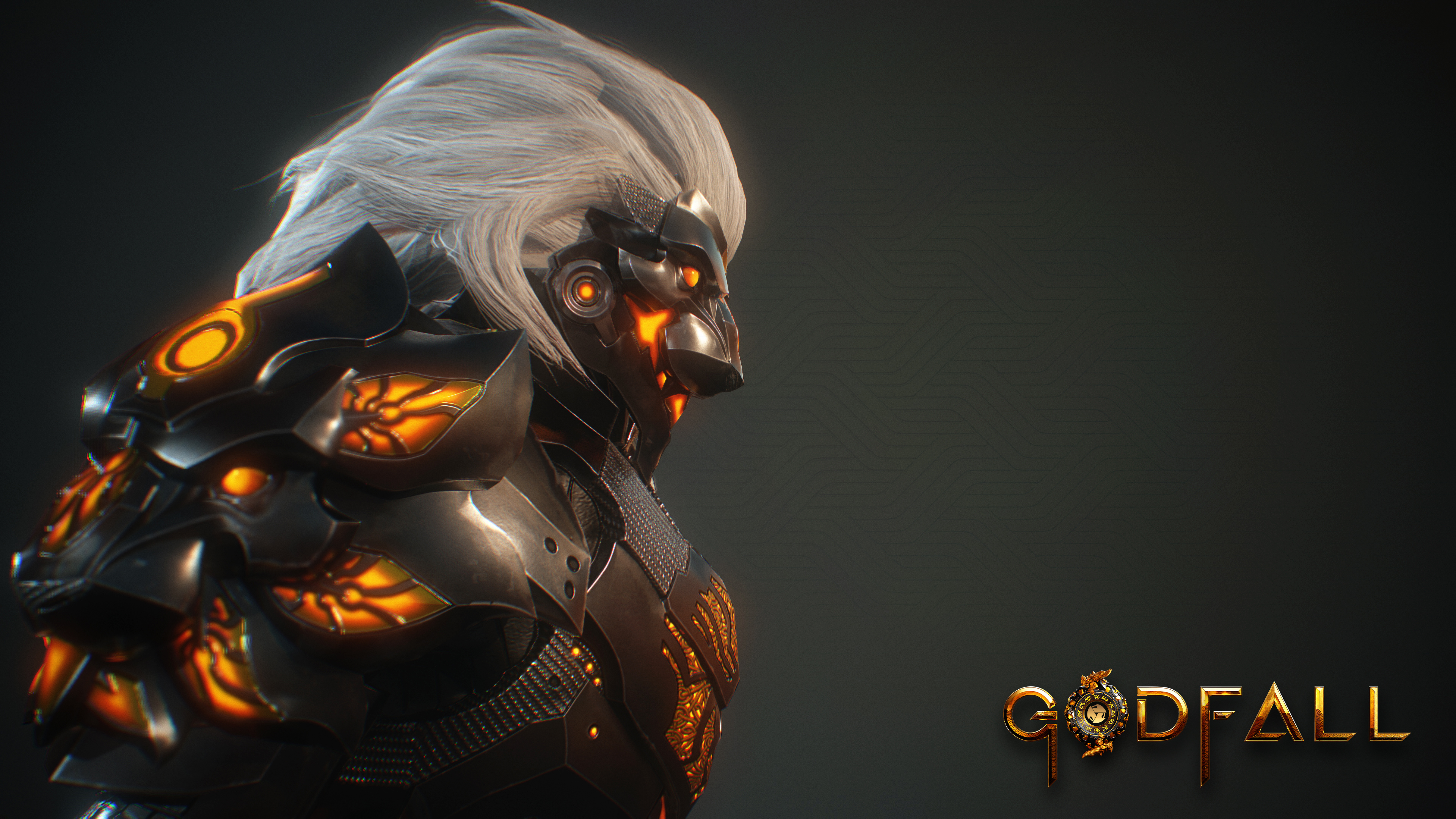 Wallpaper Character from Godfall