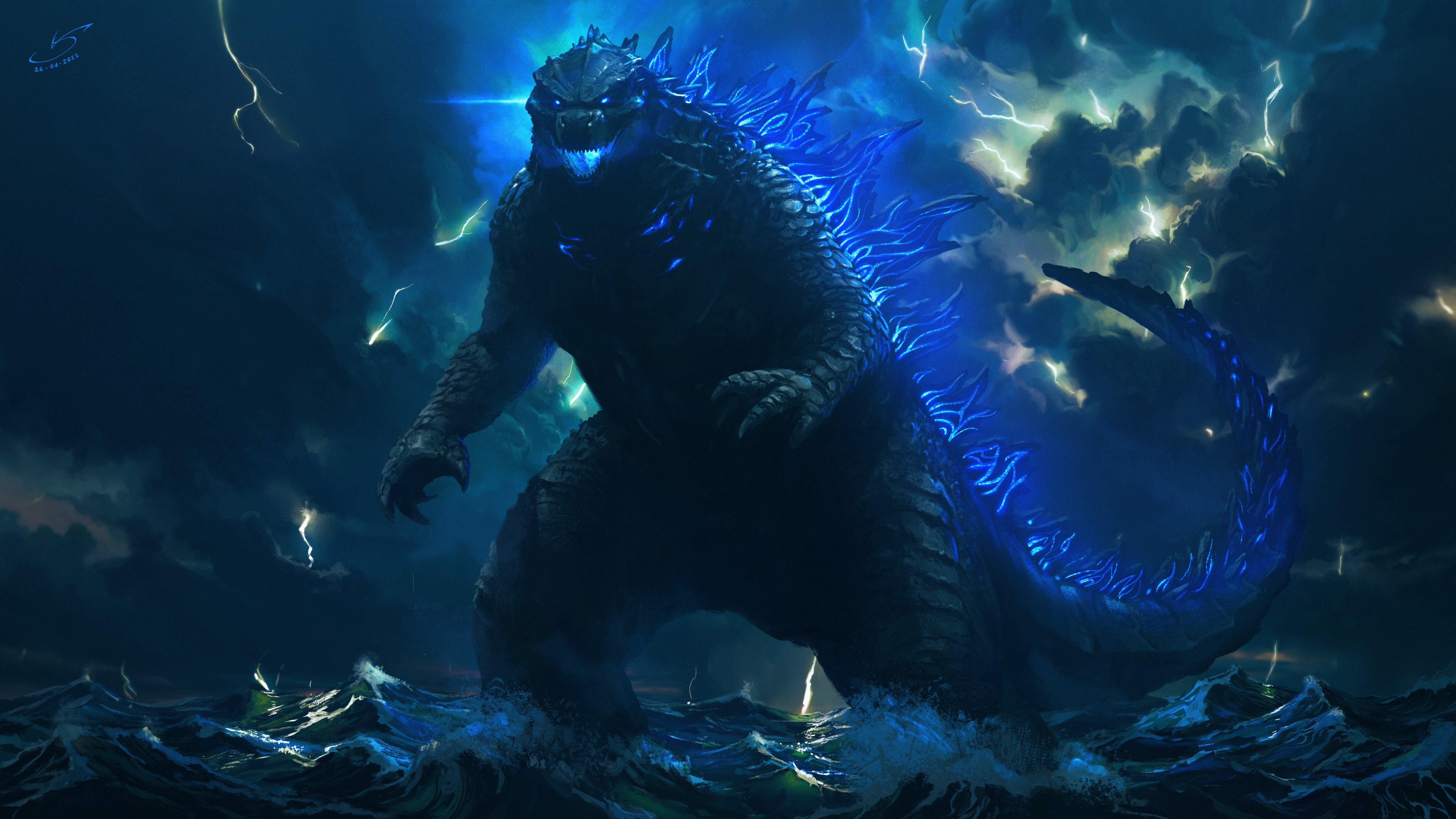 Wallpaper Godzilla 2021