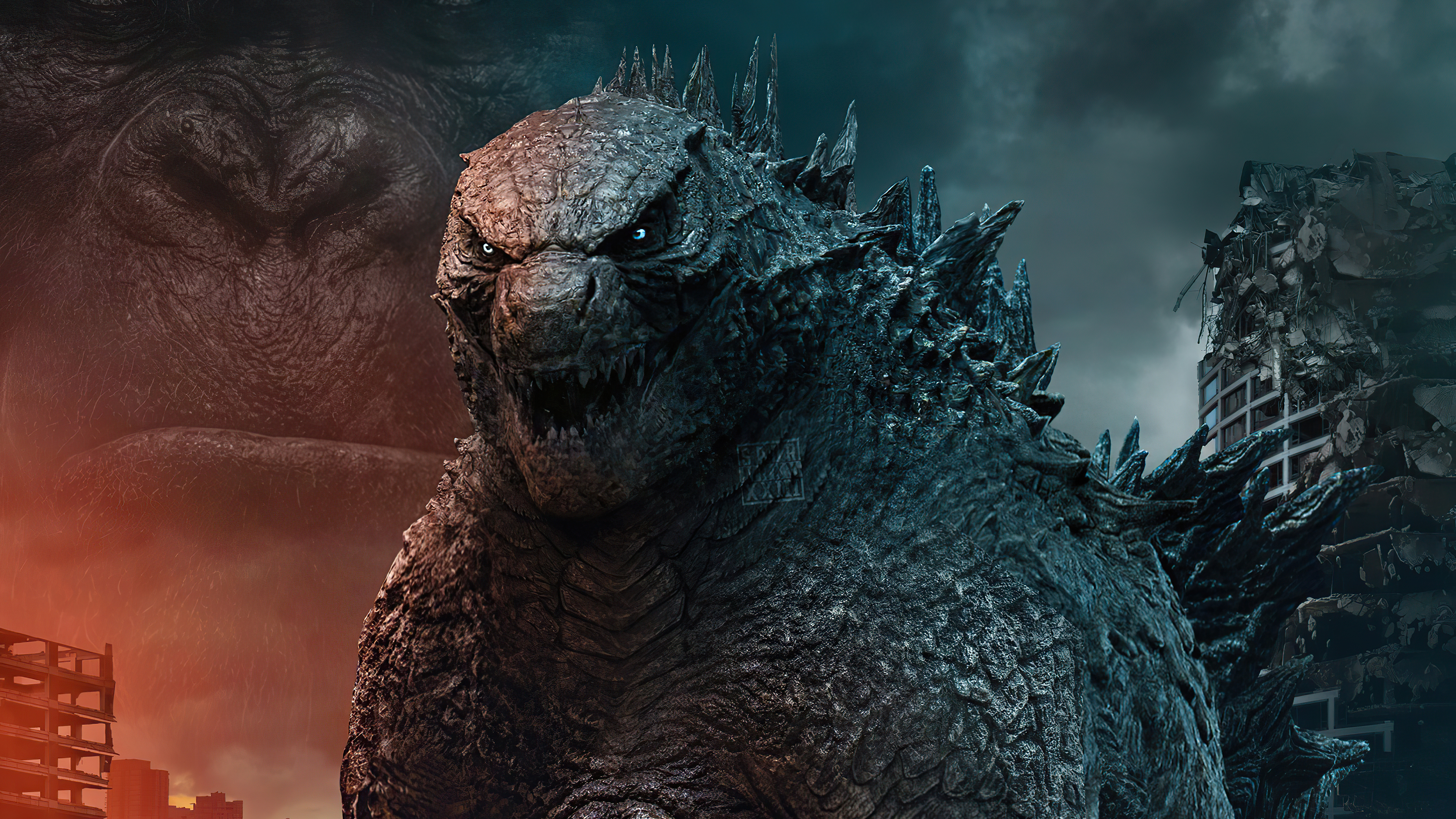 Fondos de pantalla Godzilla contra King Kong 2021