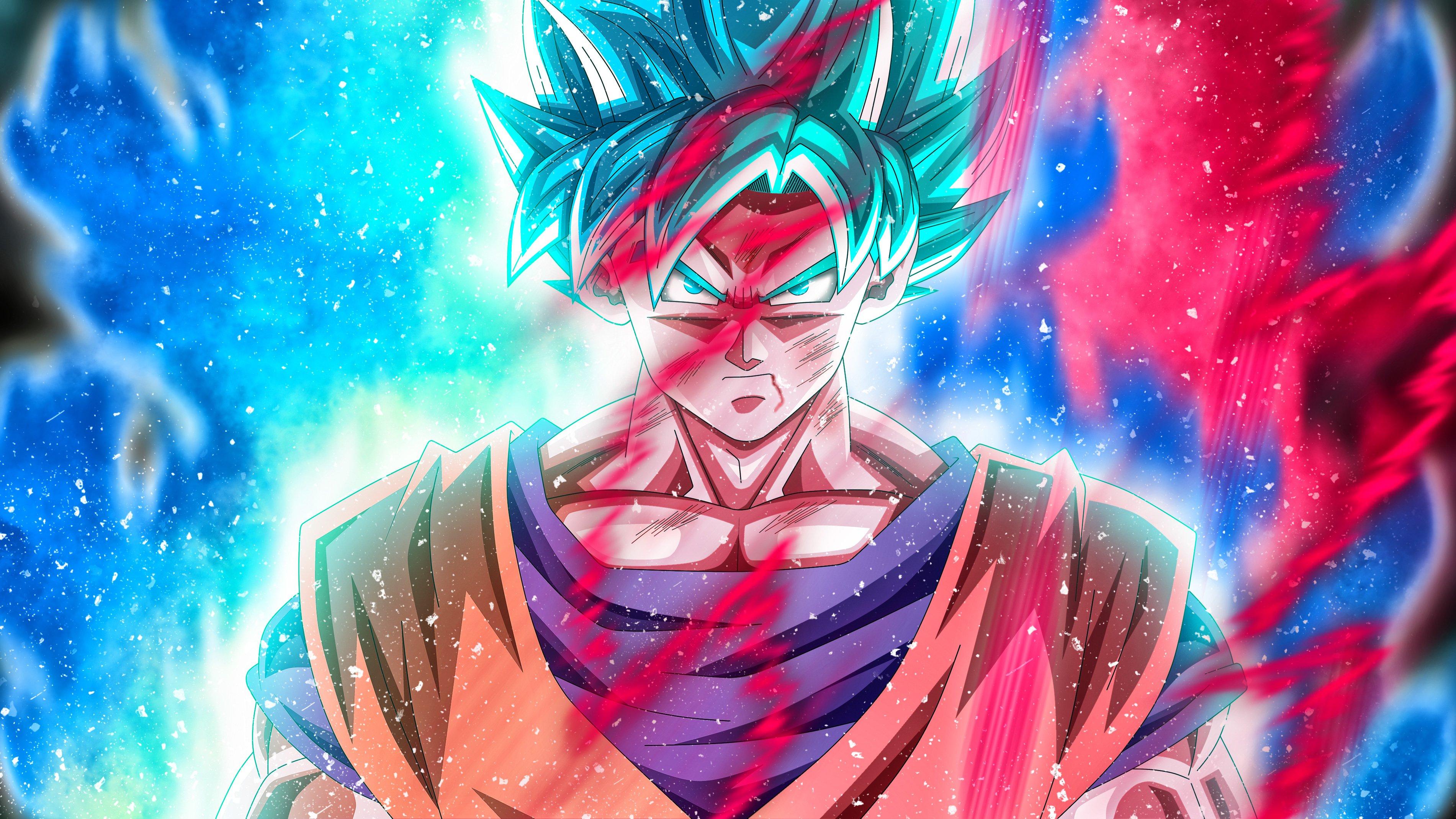 Fondos de pantalla Anime Goku Super Saiyan Blue de Dragon Ball Super