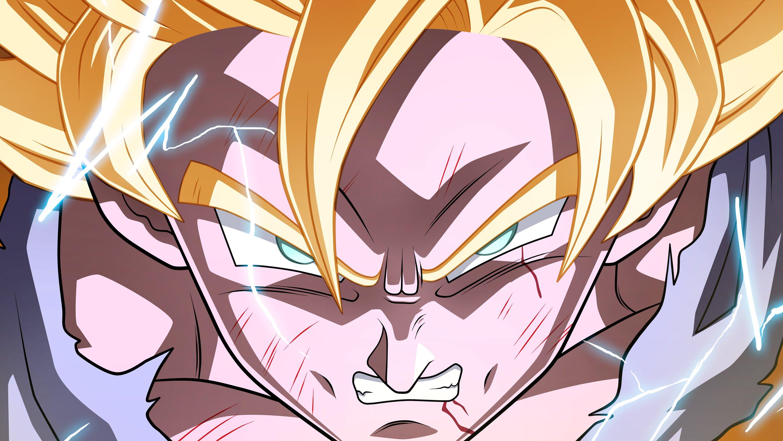 Fondos de pantalla Goku Super Saiyan Dragon Ball