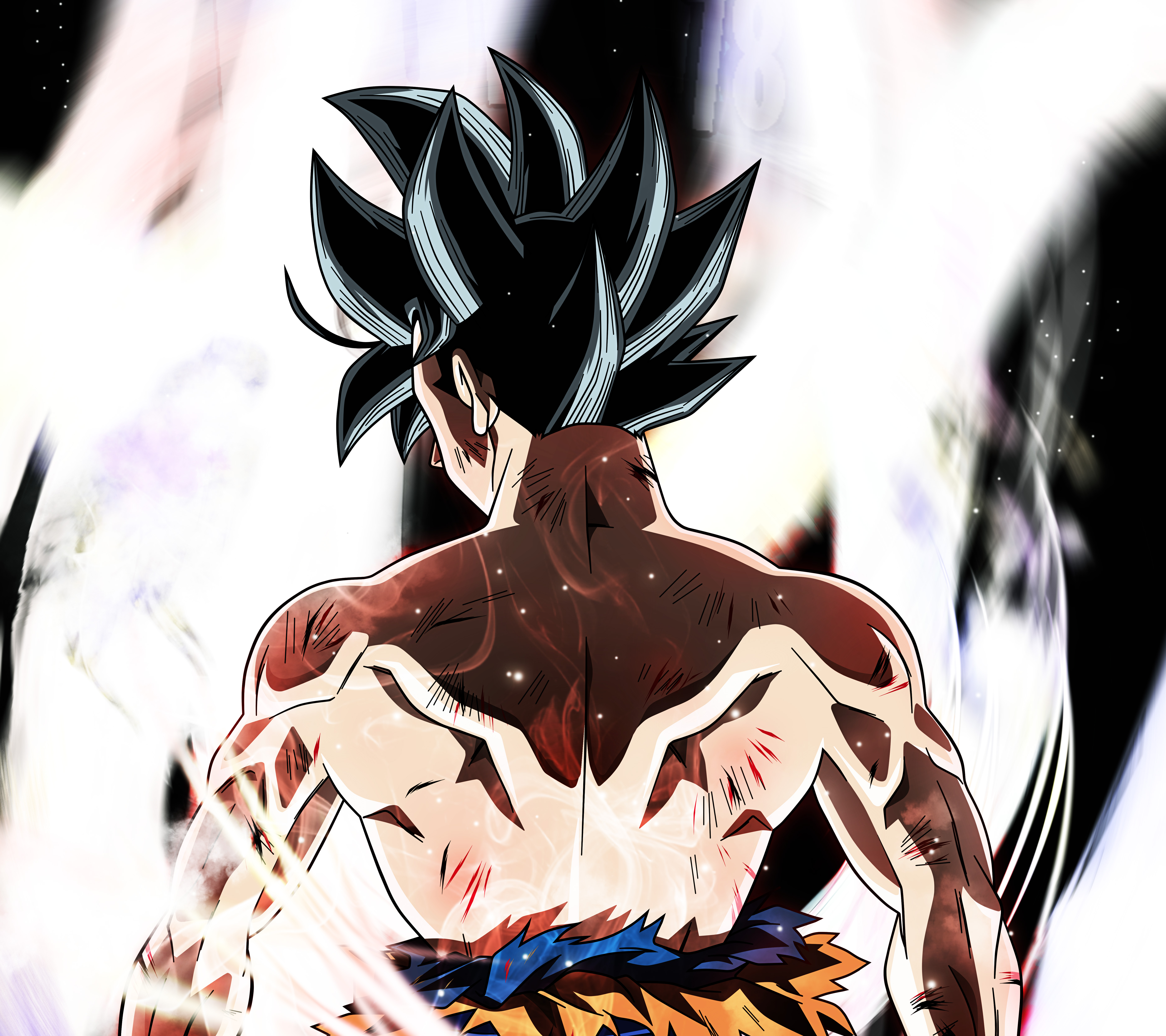 Goku Ultra Instinct Dragon Ball Super Anime Wallpaper Id3096