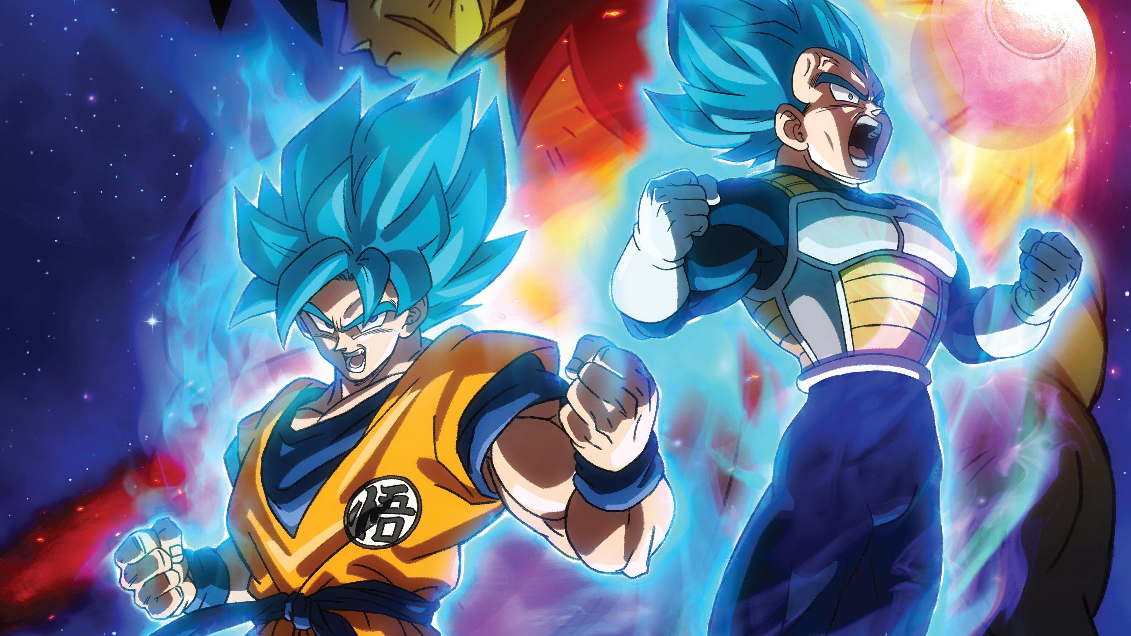Fondos de pantalla Anime Goku y Vegeta en Película Dragon Ball Super Broly