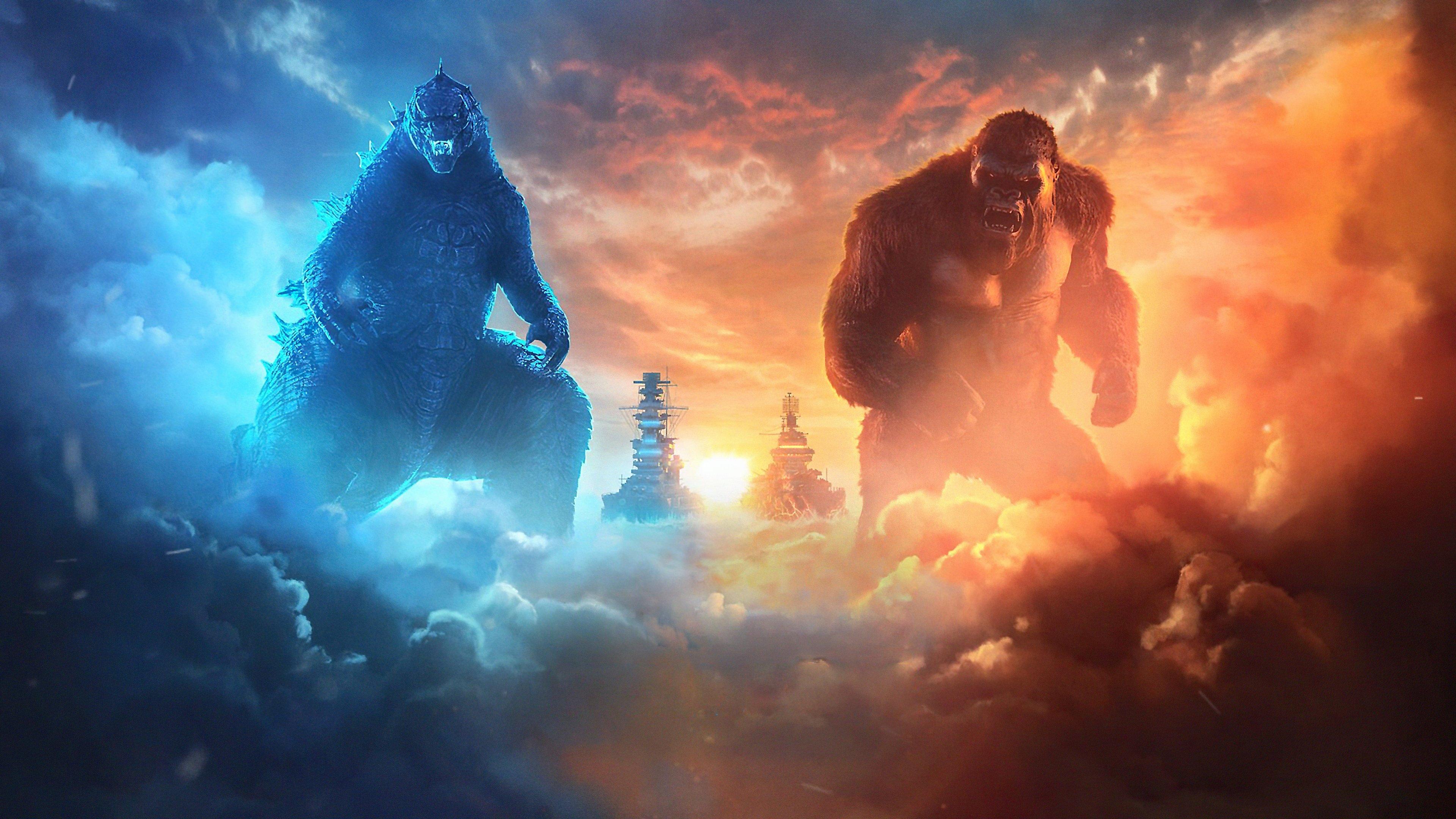 Wallpaper Gonzilla vs Kong