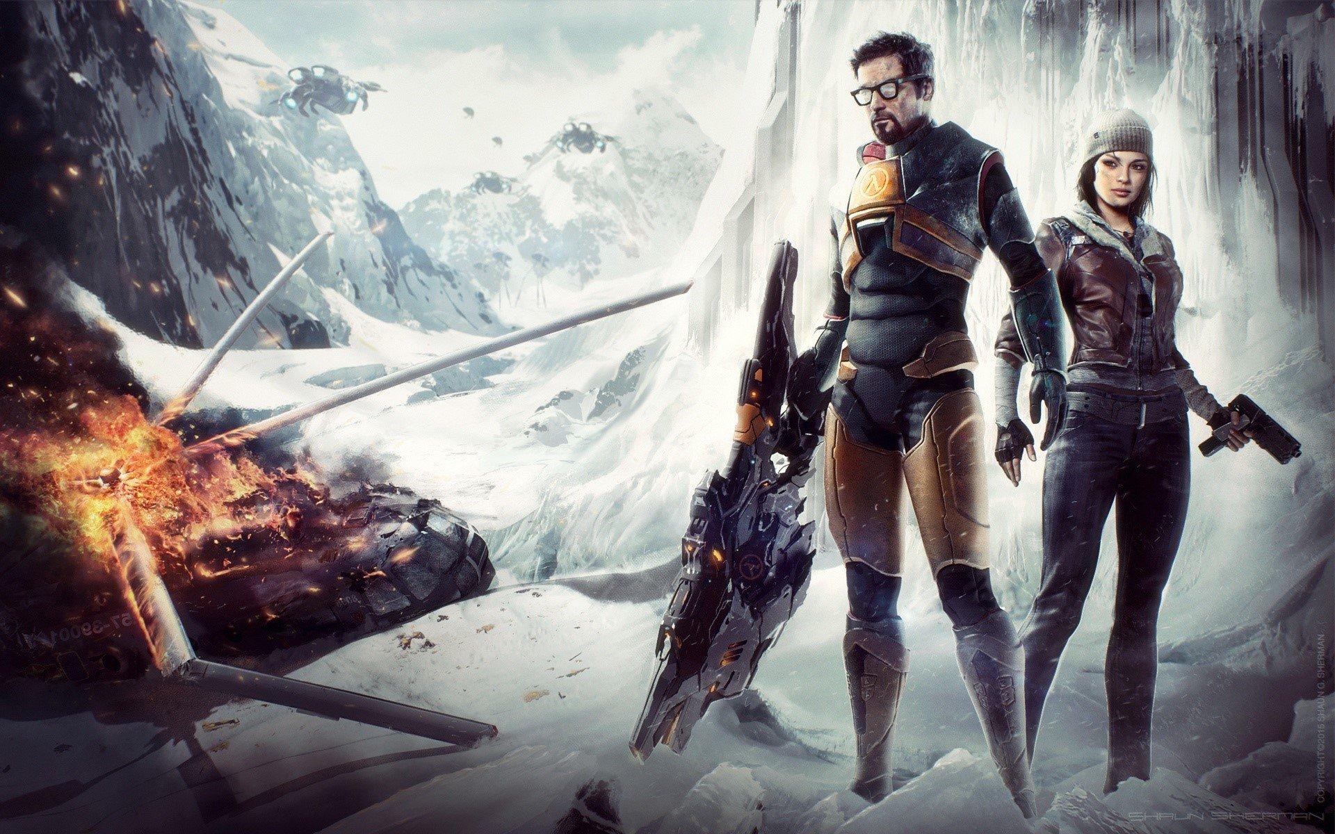Wallpaper Gordon Freeman of Half-life
