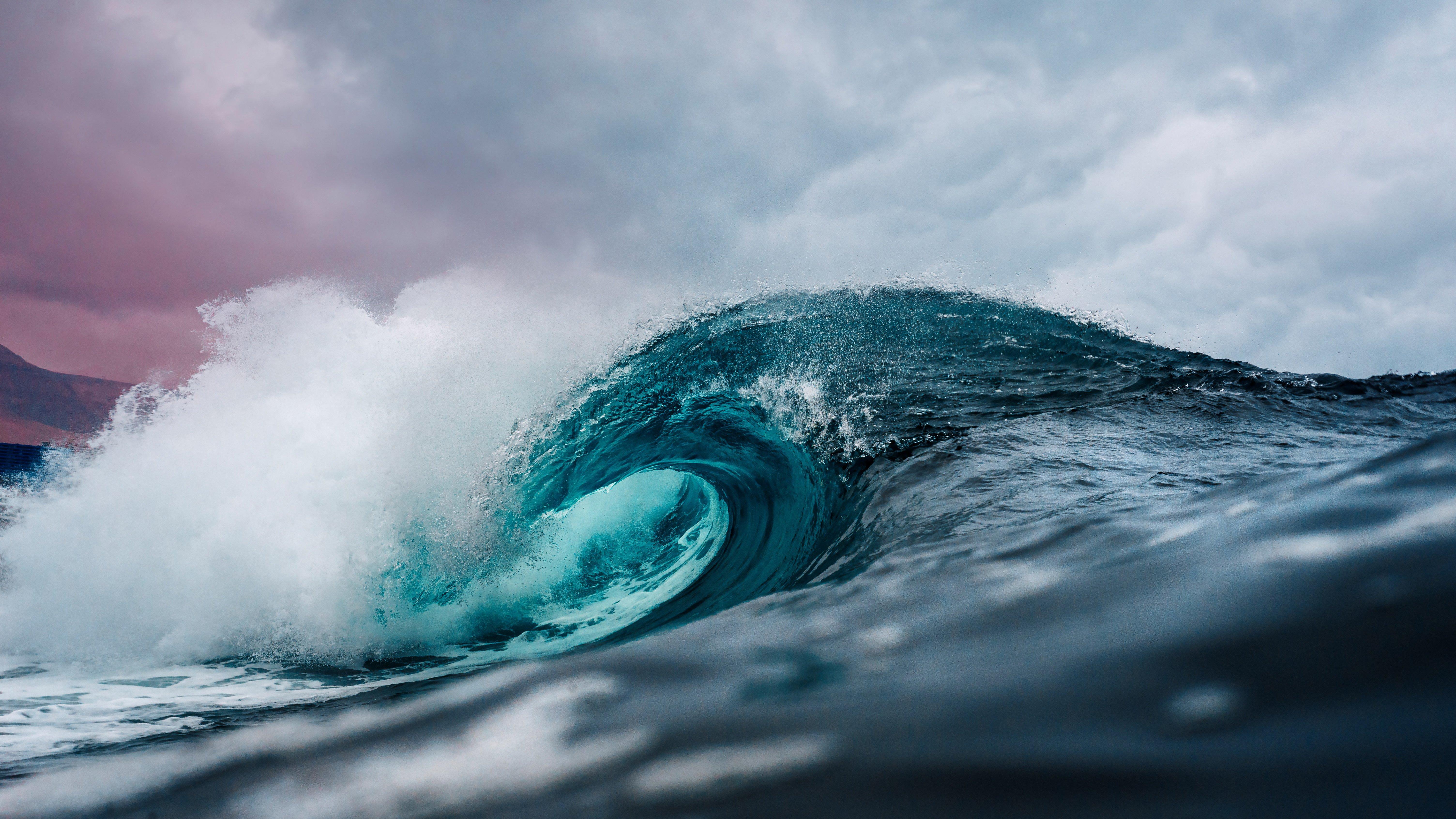Wallpaper Big ocean wave