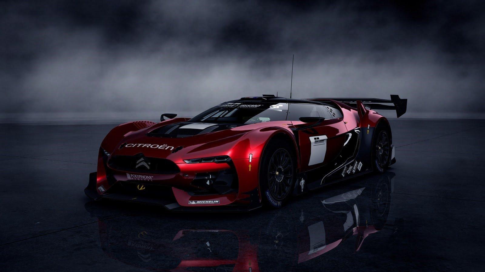 Wallpaper Gran Turismo 5 Citroen GT