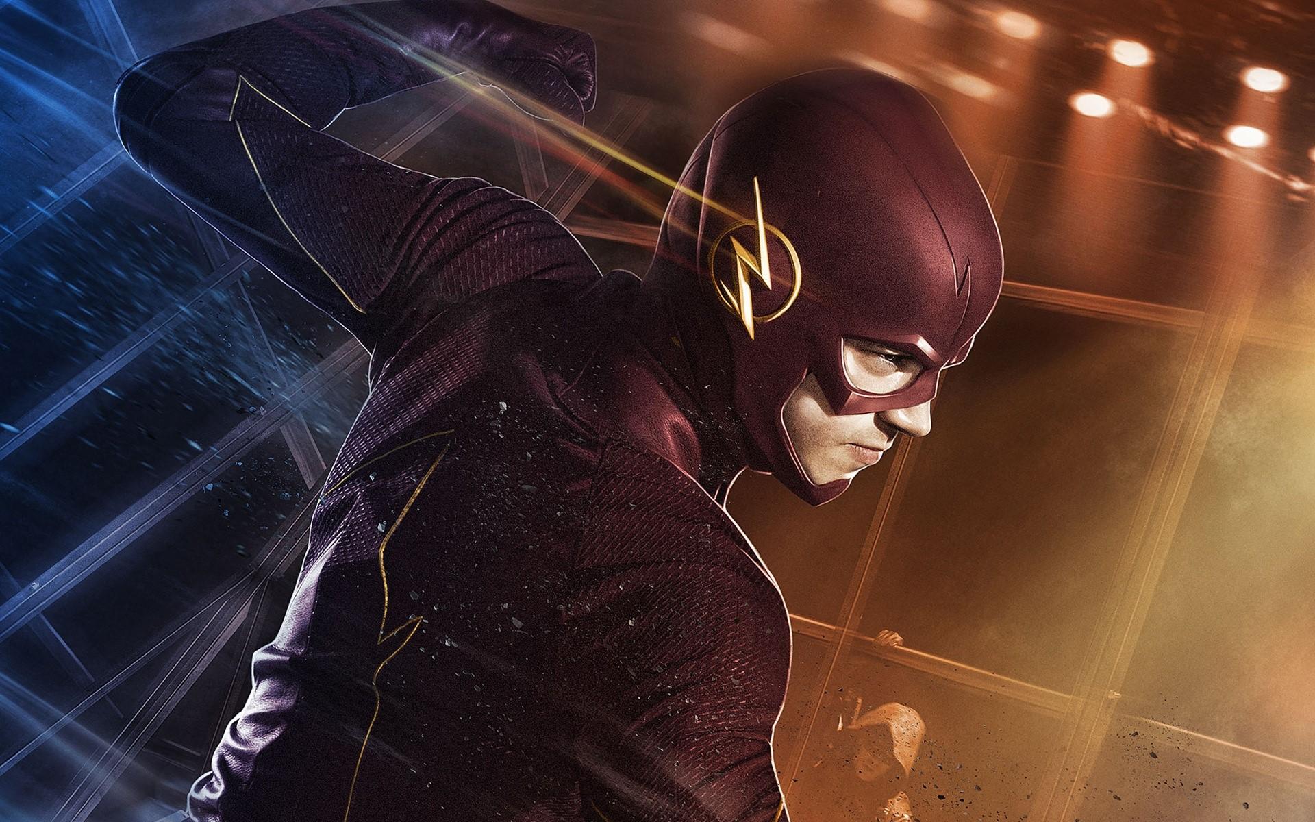 Wallpaper Grant Gustin as Flash