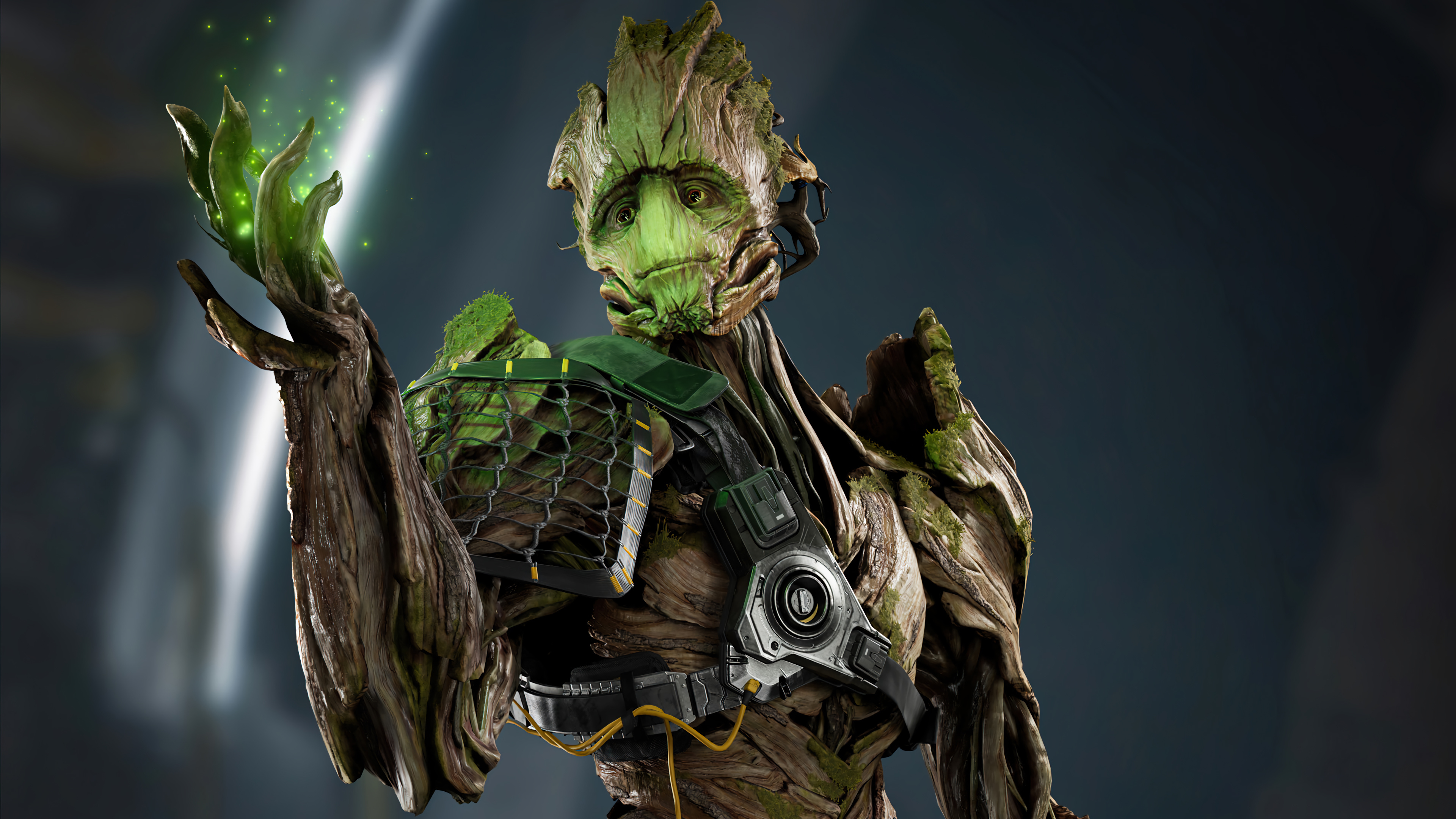 Wallpaper Groot Marvels Guardians of the galaxy