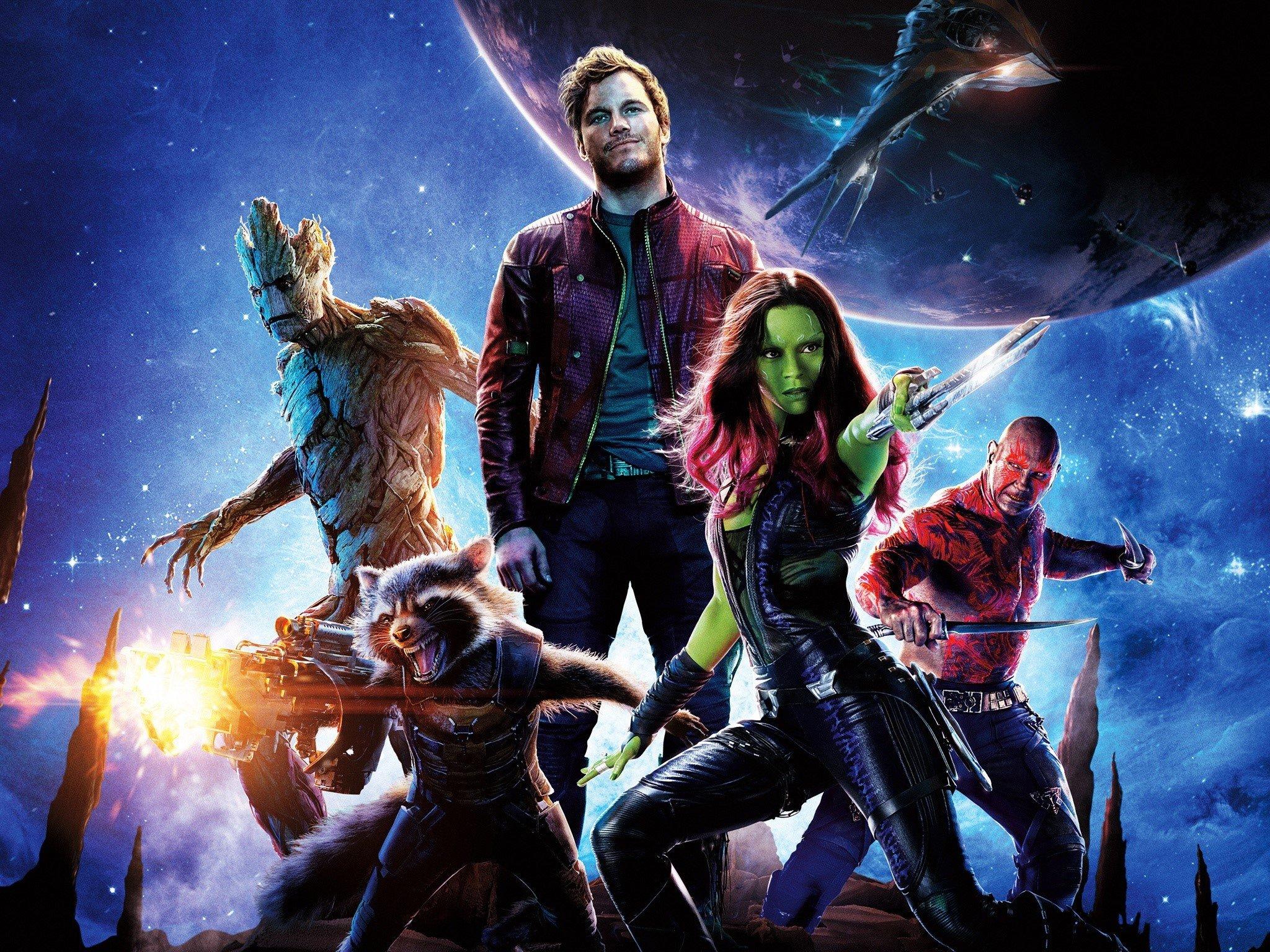 Fondos de pantalla Guardianes de la galaxia