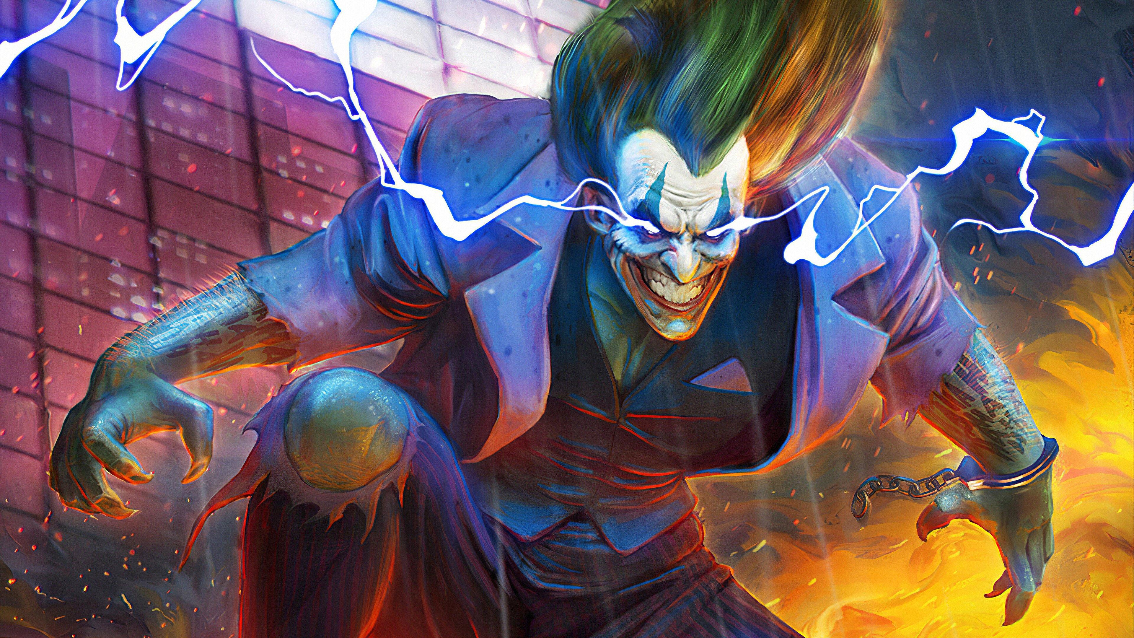 Joker Wallpaper 4k Ultra HD ID:4387