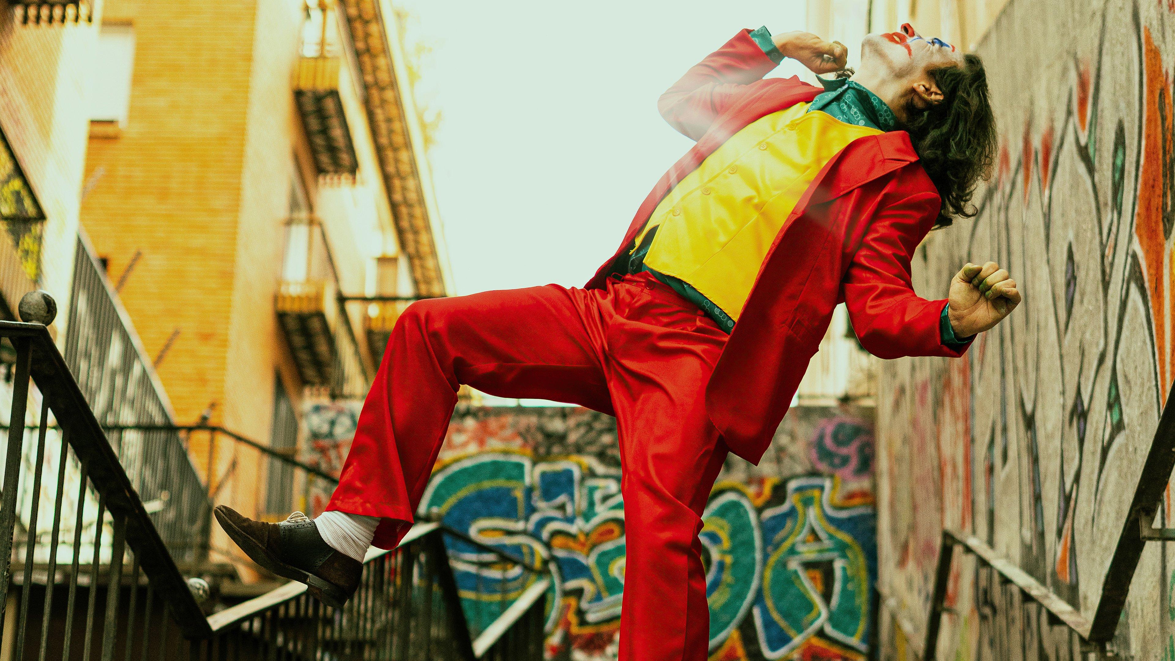 Wallpaper Joker in the stairs