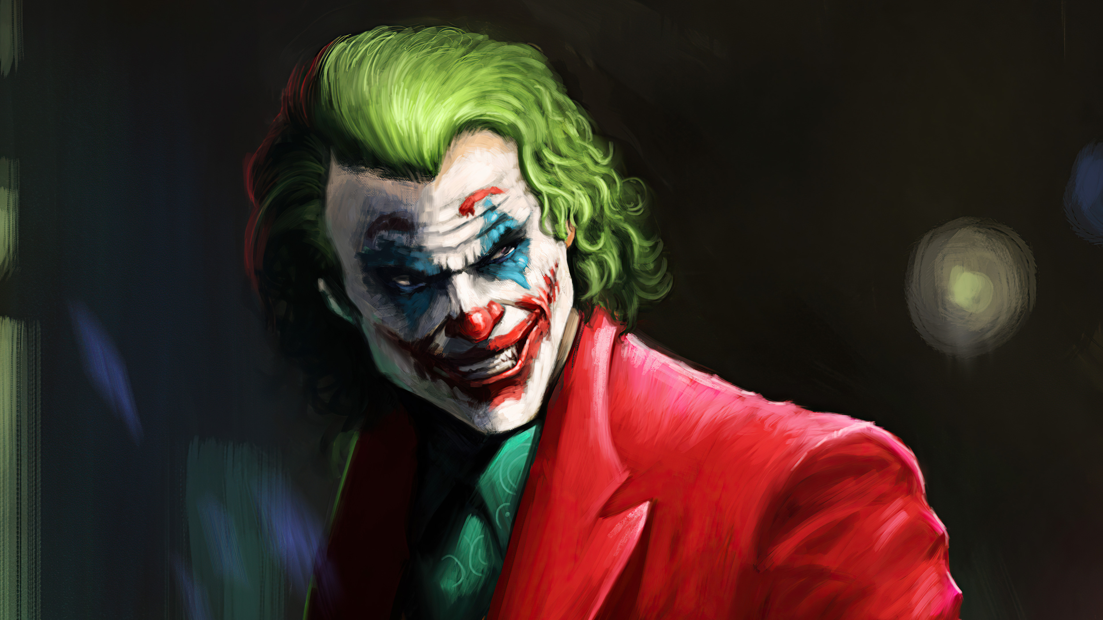 Wallpaper Joker Fanart 2021