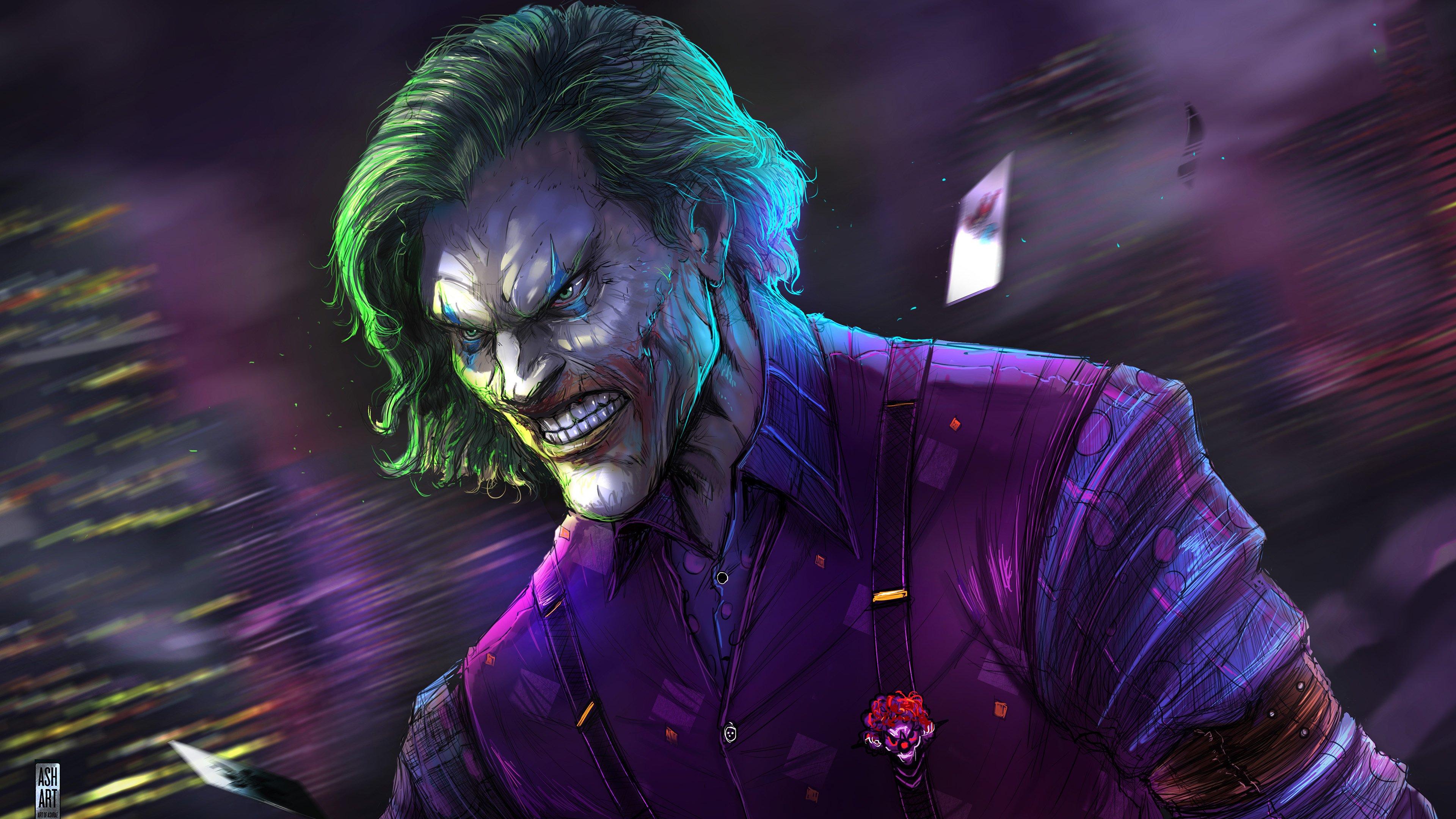 Joker Fanart Wallpaper 4k Ultra HD ID:4461