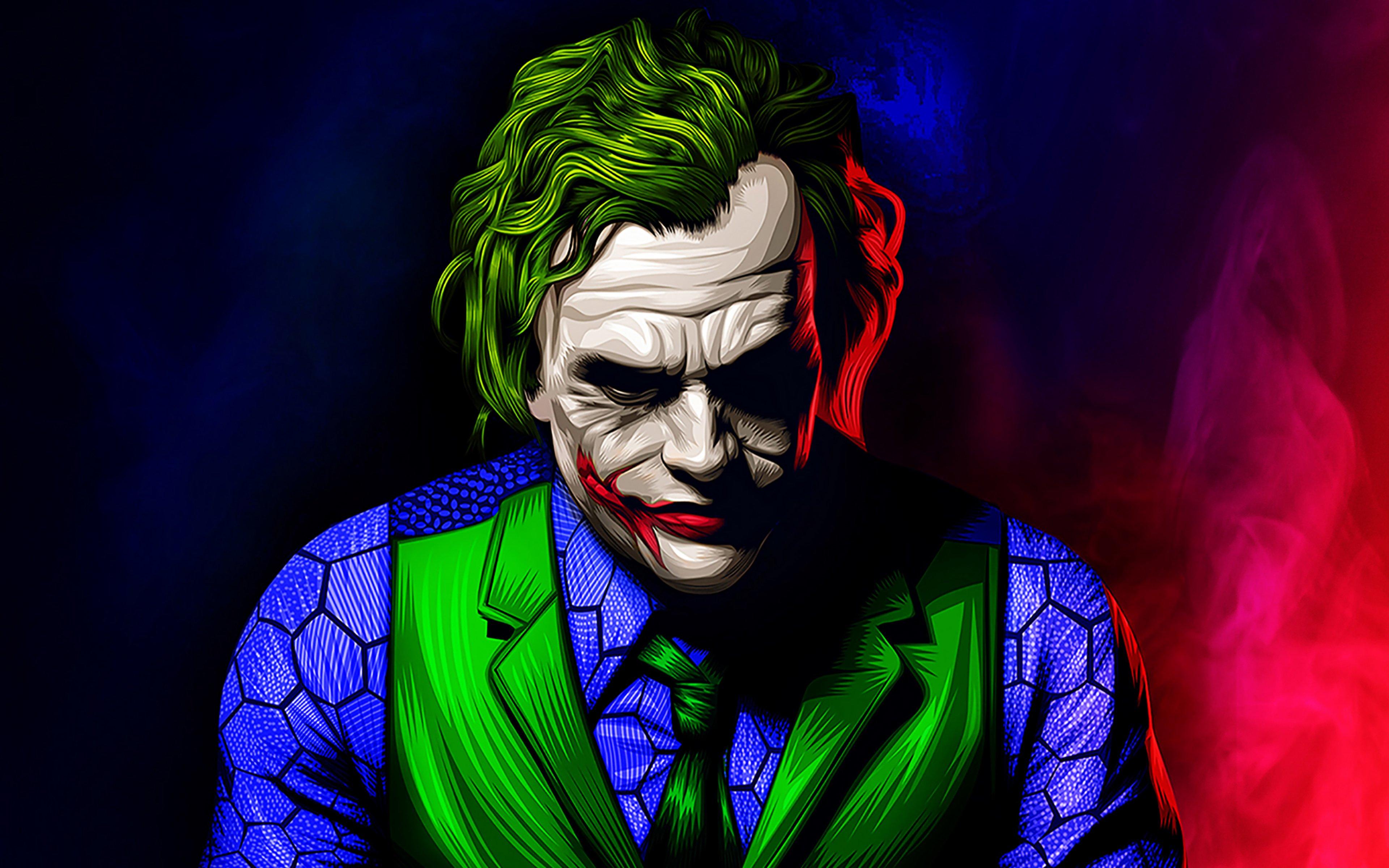 Joker Artwork Illustration Wallpaper 4k Ultra Hd Id3810