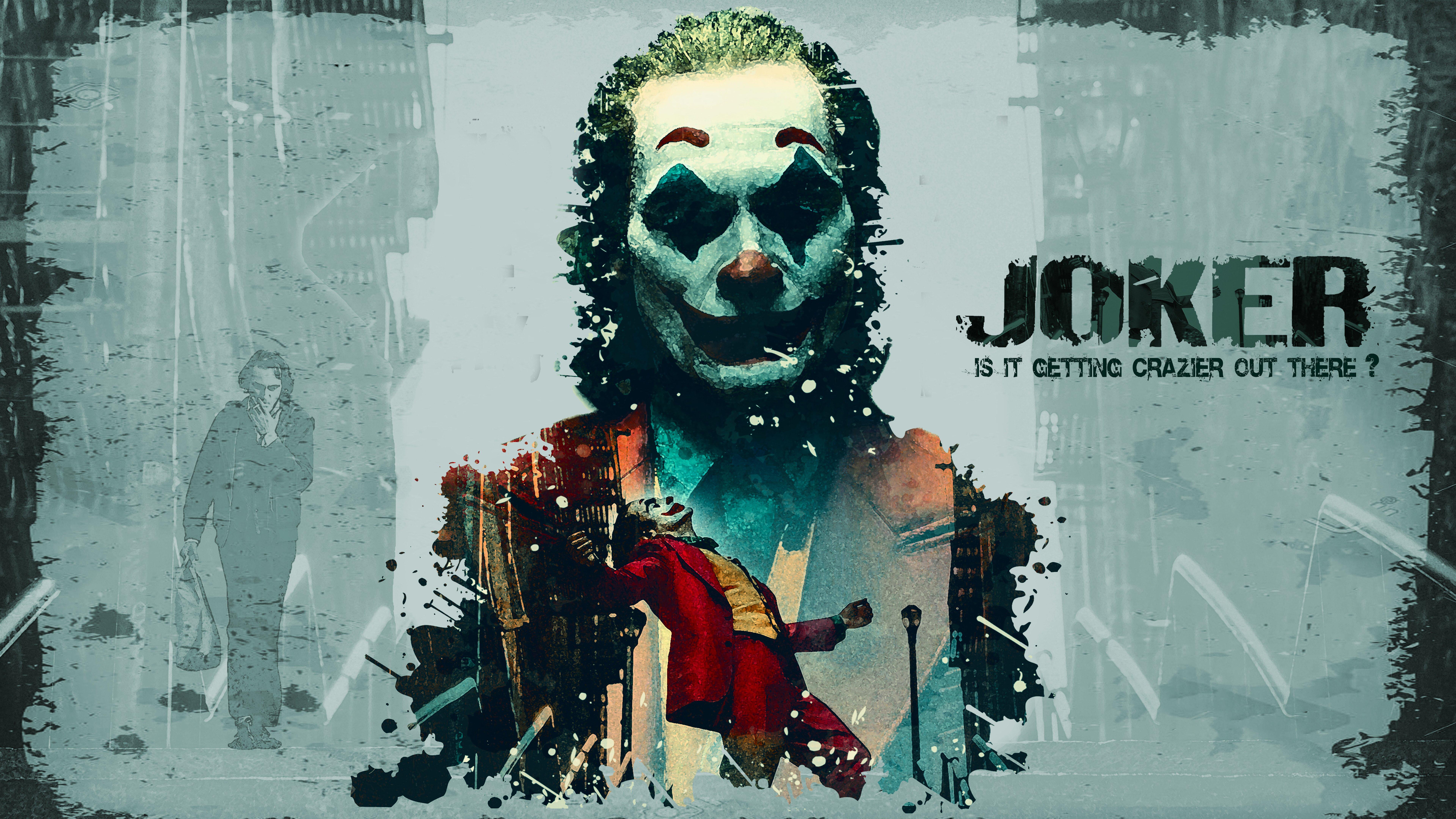 Joker Movie With Joaquin Phoenix Wallpaper 8k Ultra Hd Id 3807