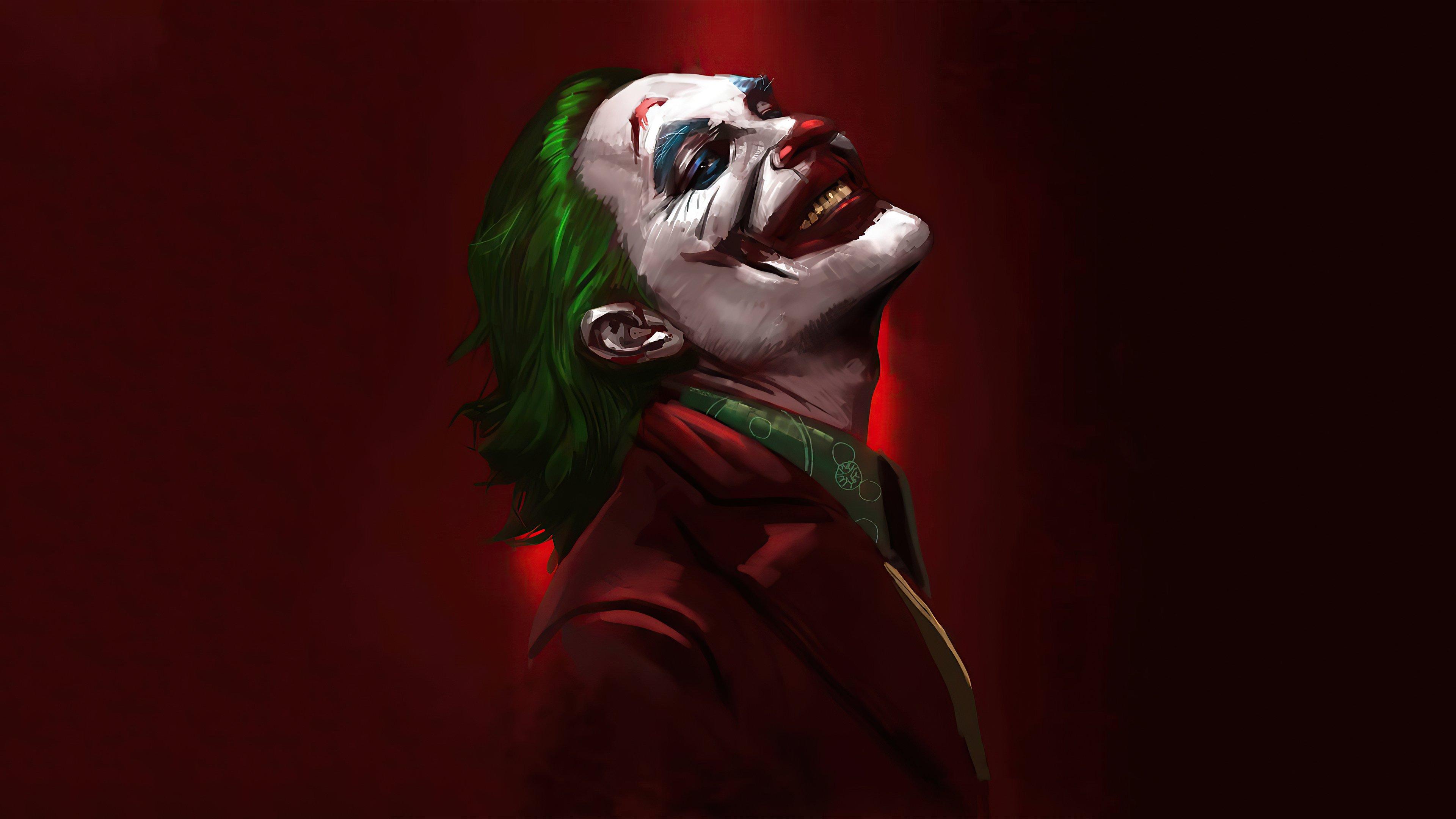 Wallpaper Joker smiling