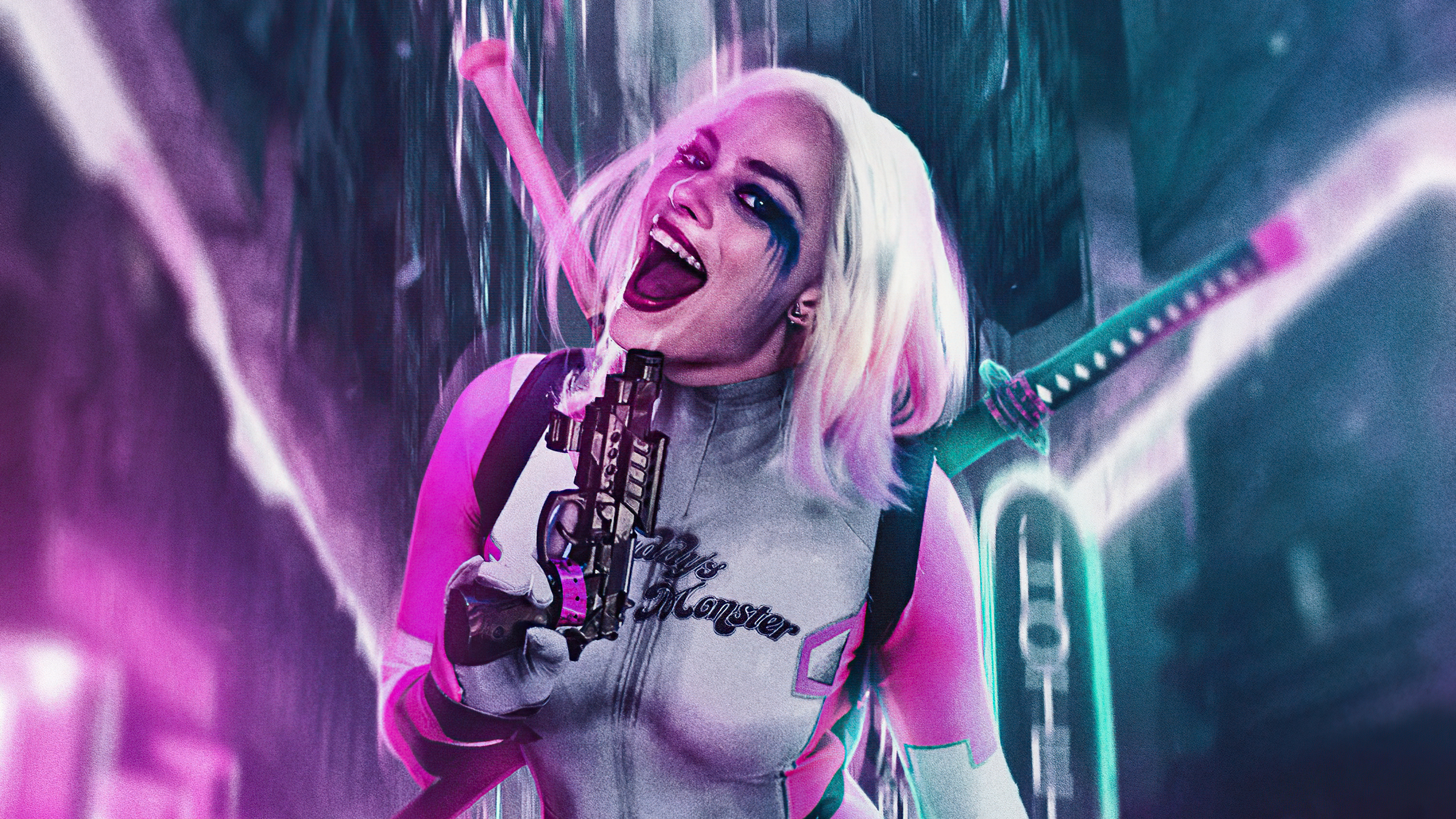 Fondos de pantalla Gwenpool X Harley Quinn