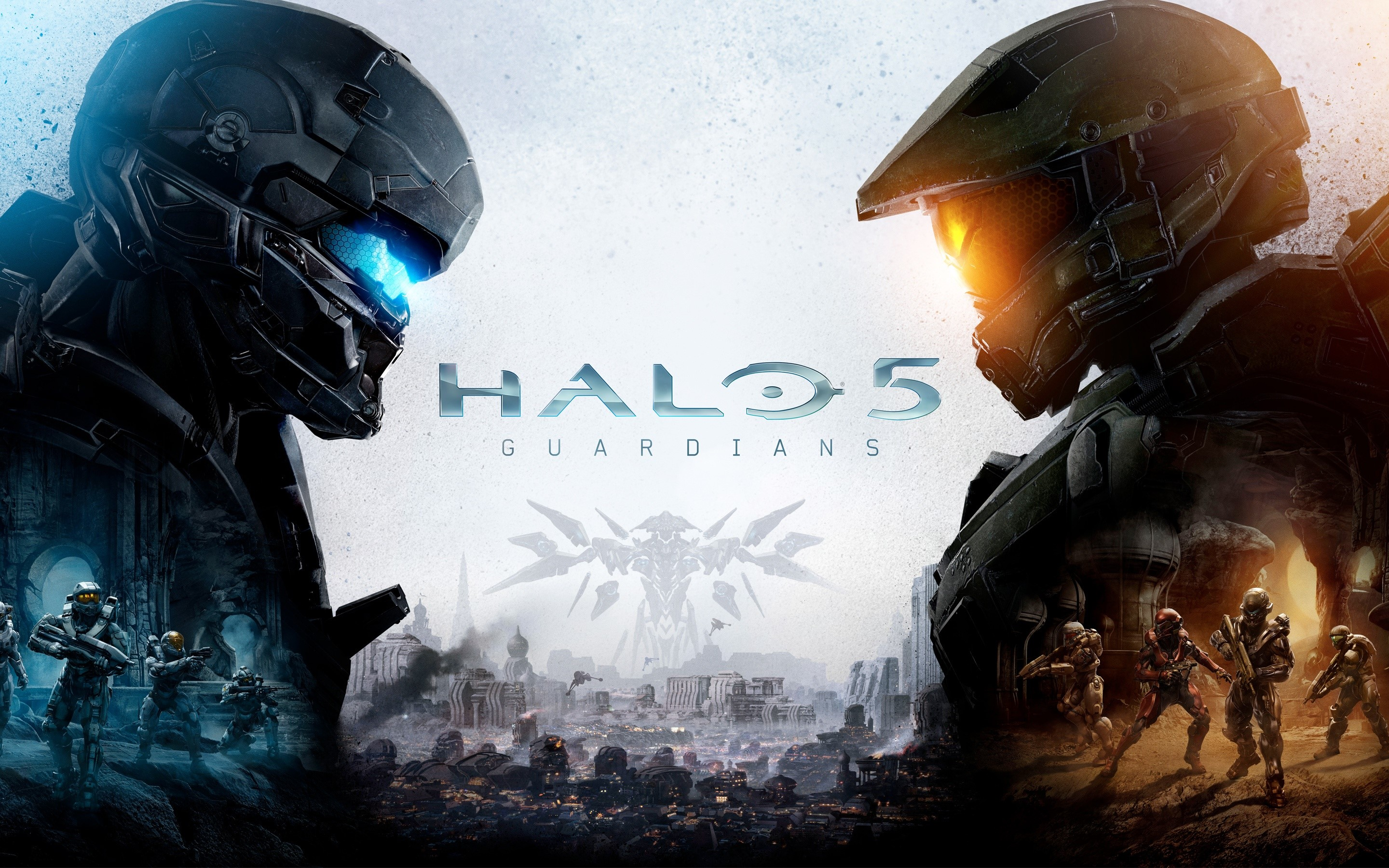 Wallpaper Halo 5 Guardians